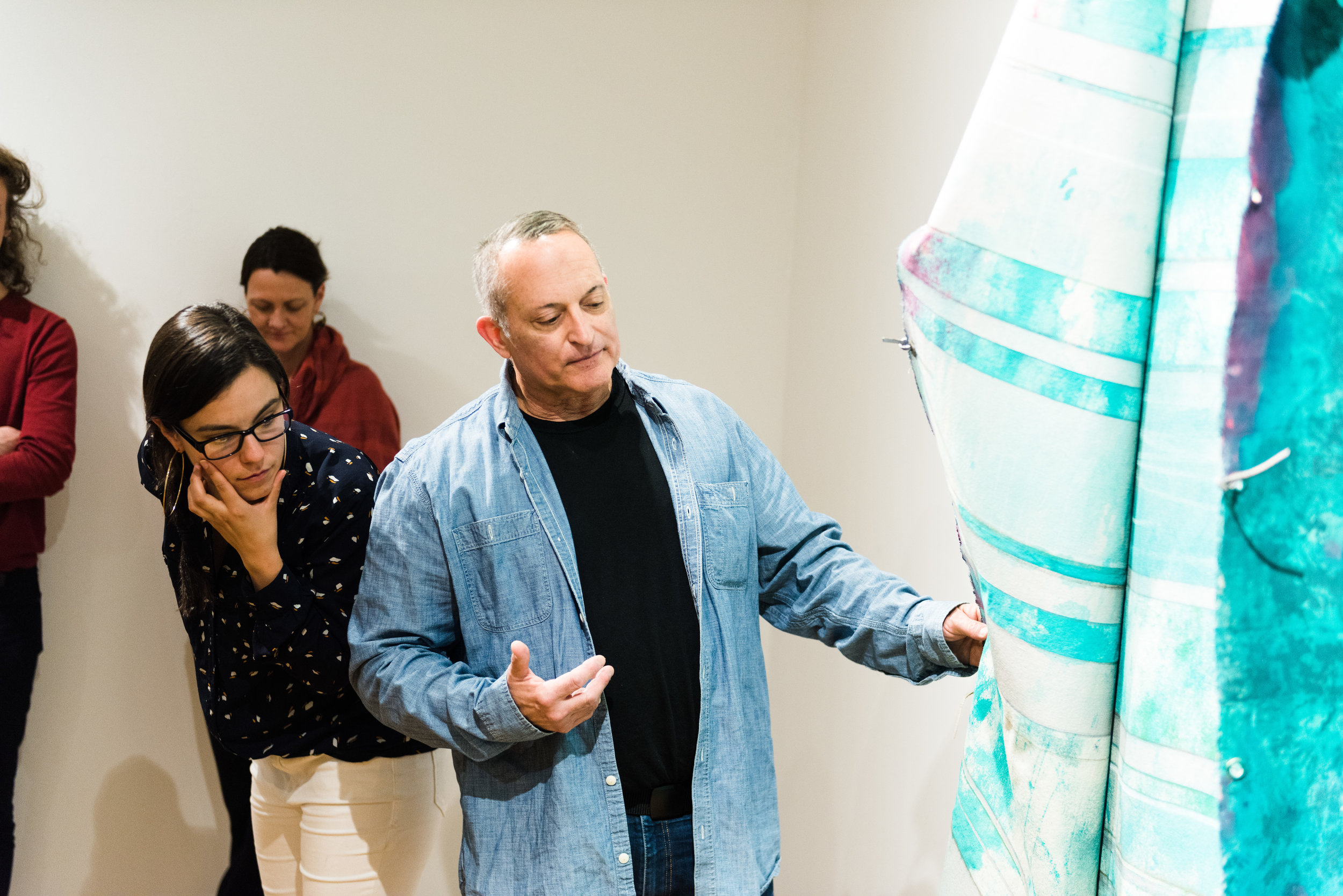 2019 New Member Exhibition at Pittsburgh Center for Arts and Media. Photo credit: Chris Uhren