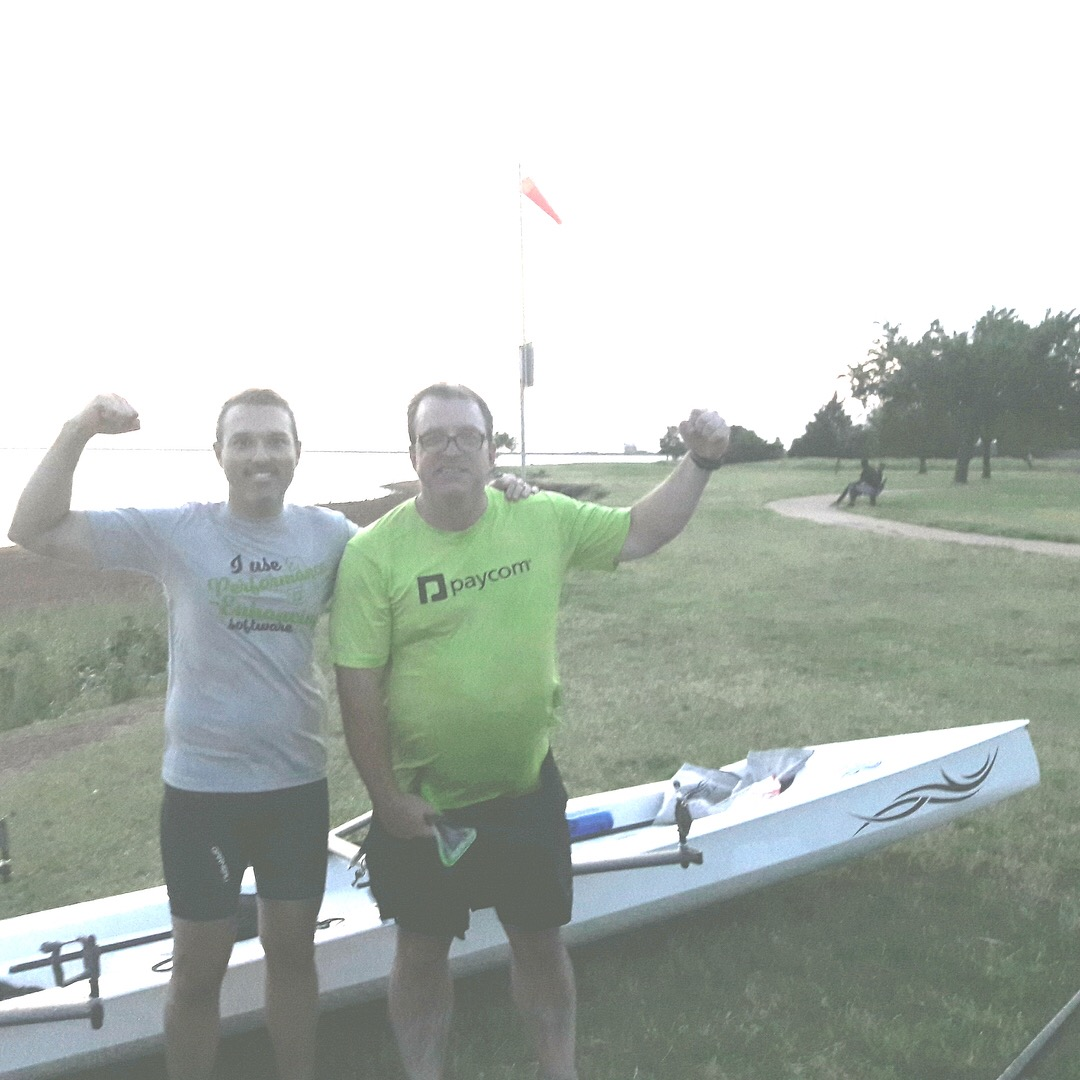 - Remember the gentleman from Oklahoma, he is the proud owner of a brand new LiteSport 2X. He sent me this picture taken after his maiden voyage on Lake Hefner in Oklahoma. He informed me that Lake Hefner is one of the top 10 windiest lakes in the U.S. That just makes it more fun in the LiteSport 2X!!