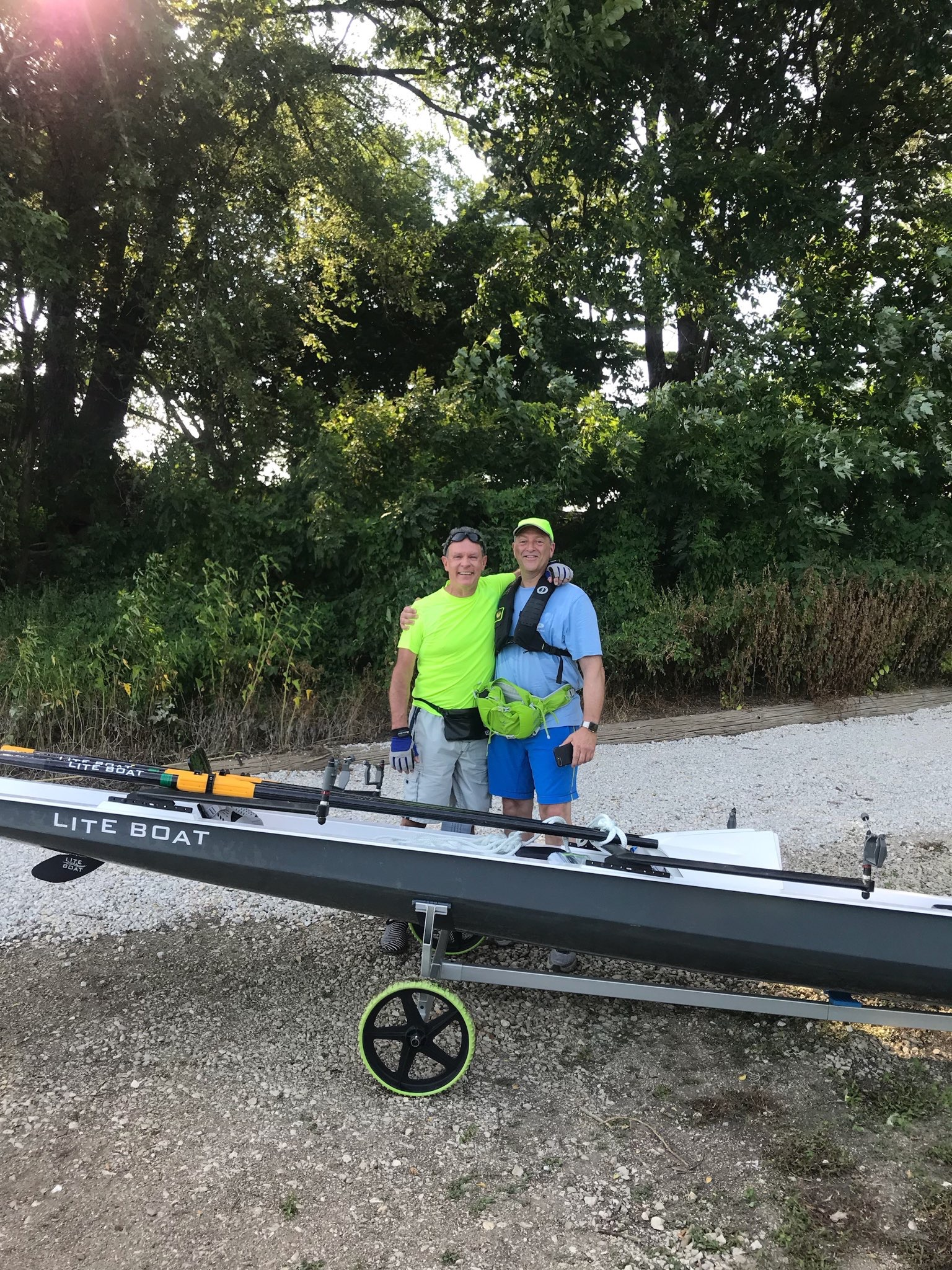 Welcome - Two of our newest members of the LiteBoat family!!