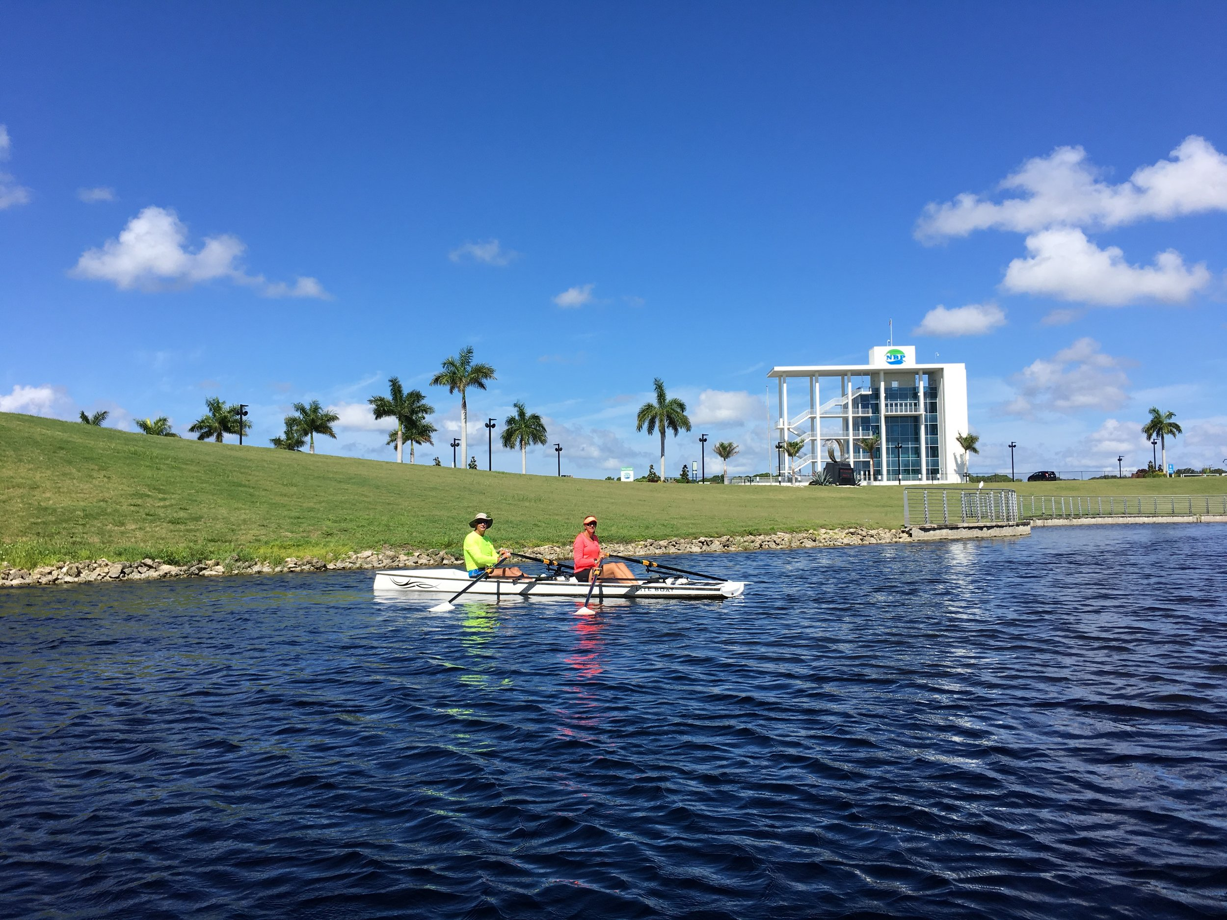 Nathan Benderson Park - We are lucky to have a world class rowing facility in Sarasota for when we want to test our straight line skills. Look for our booth at the 2018 World Rowing Masters Regatta Sept 27-30. http://nathanbendersonpark.org/