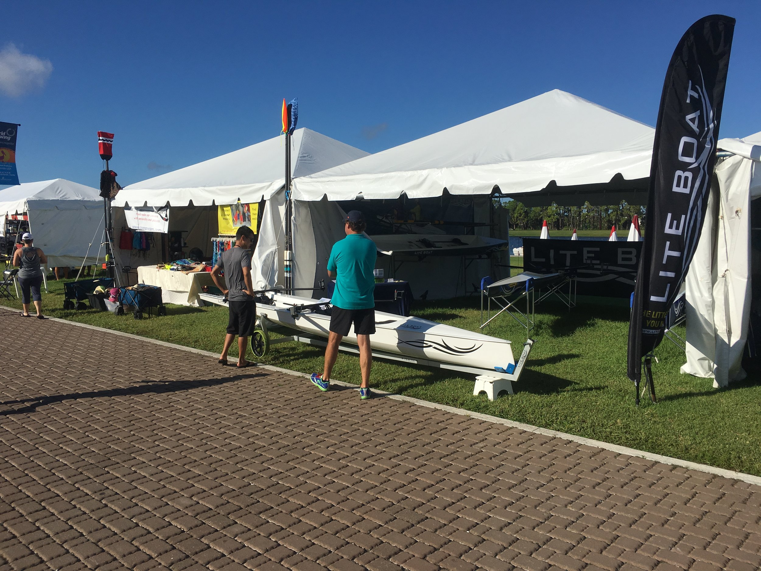World Rowing Masters Regatta - We had a great time at the 2018 World Rowing Masters Regatta, met lots of nice people in the world of rowing.