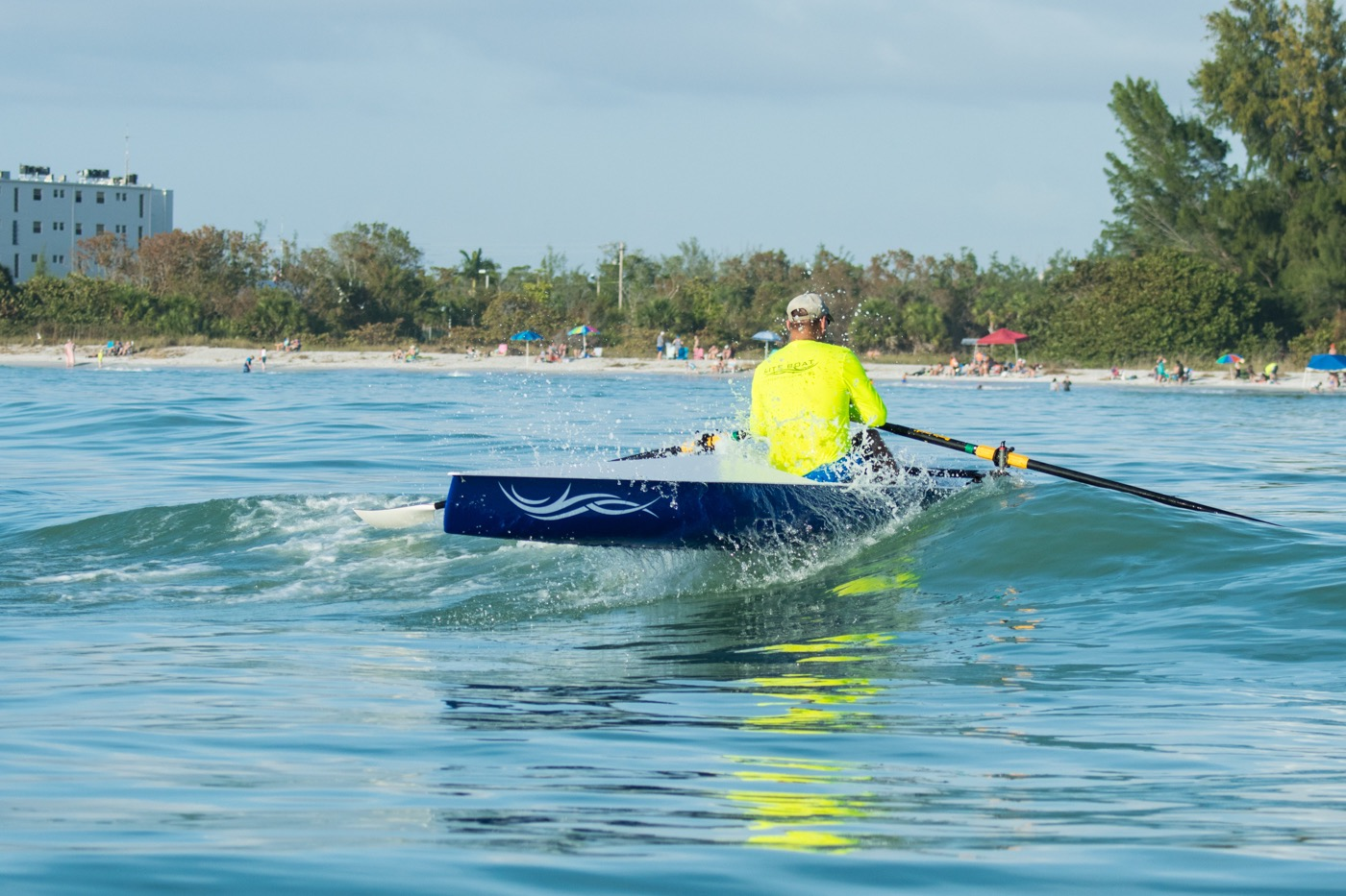 LiteRace 1X - Practicing my Coastal Rowing skills, more fun then I can describe!