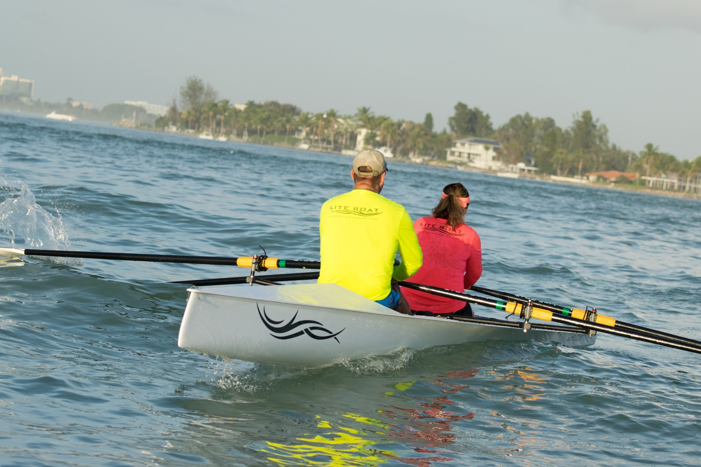LiteRace 2X - We got the latest edition to our fleet, the LiteRace 2X. Now it's time to really start training for races, but it's still so much fun!!