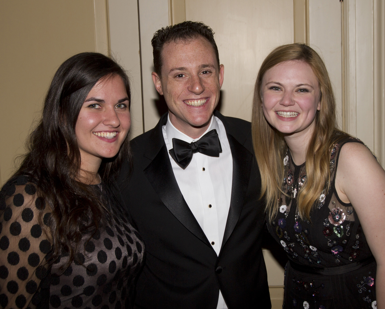 Megan Flannere, David Mlaver and Haley Rushing-Hill