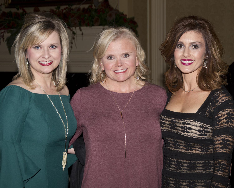 Jenny Bearden, Tracy Capps and Terri Court