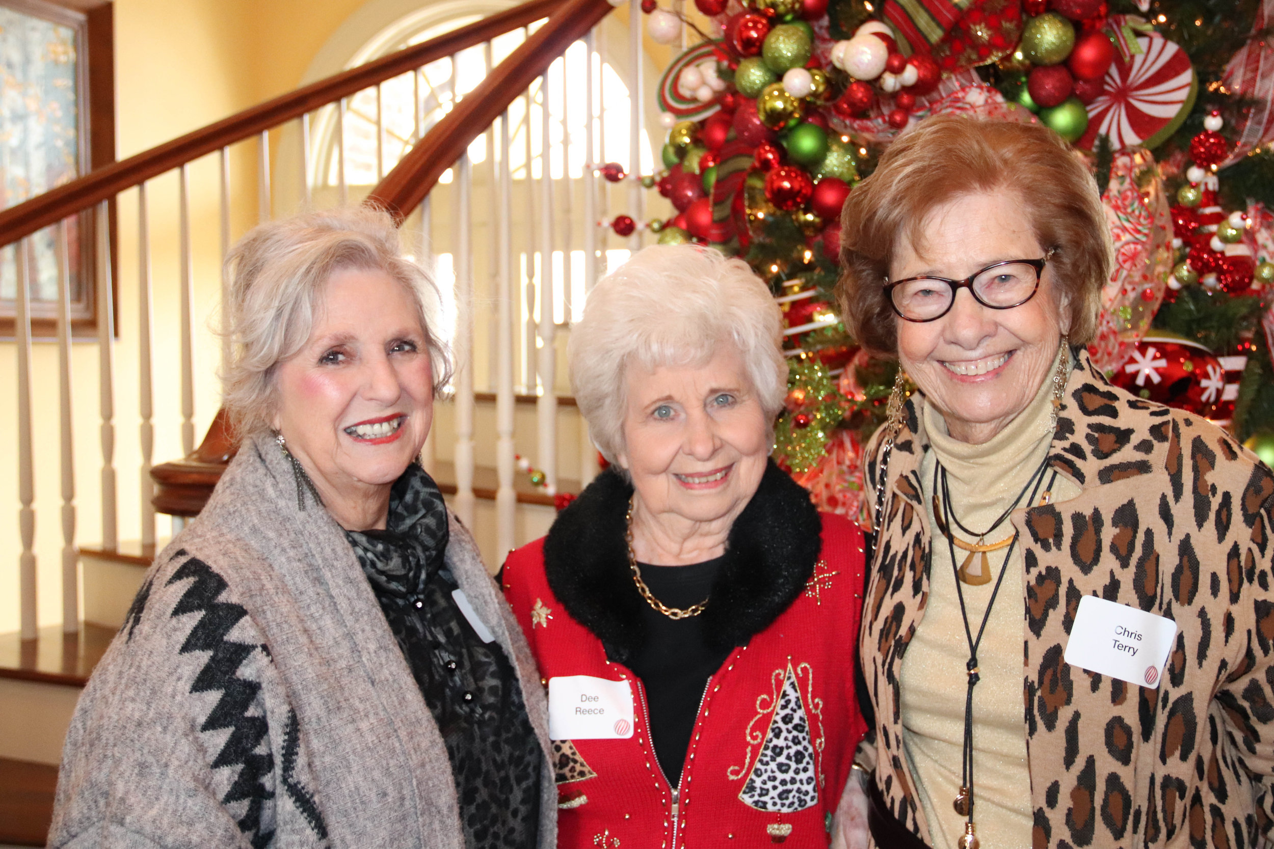 Joyce Mitchell, Dee Reece and Ch