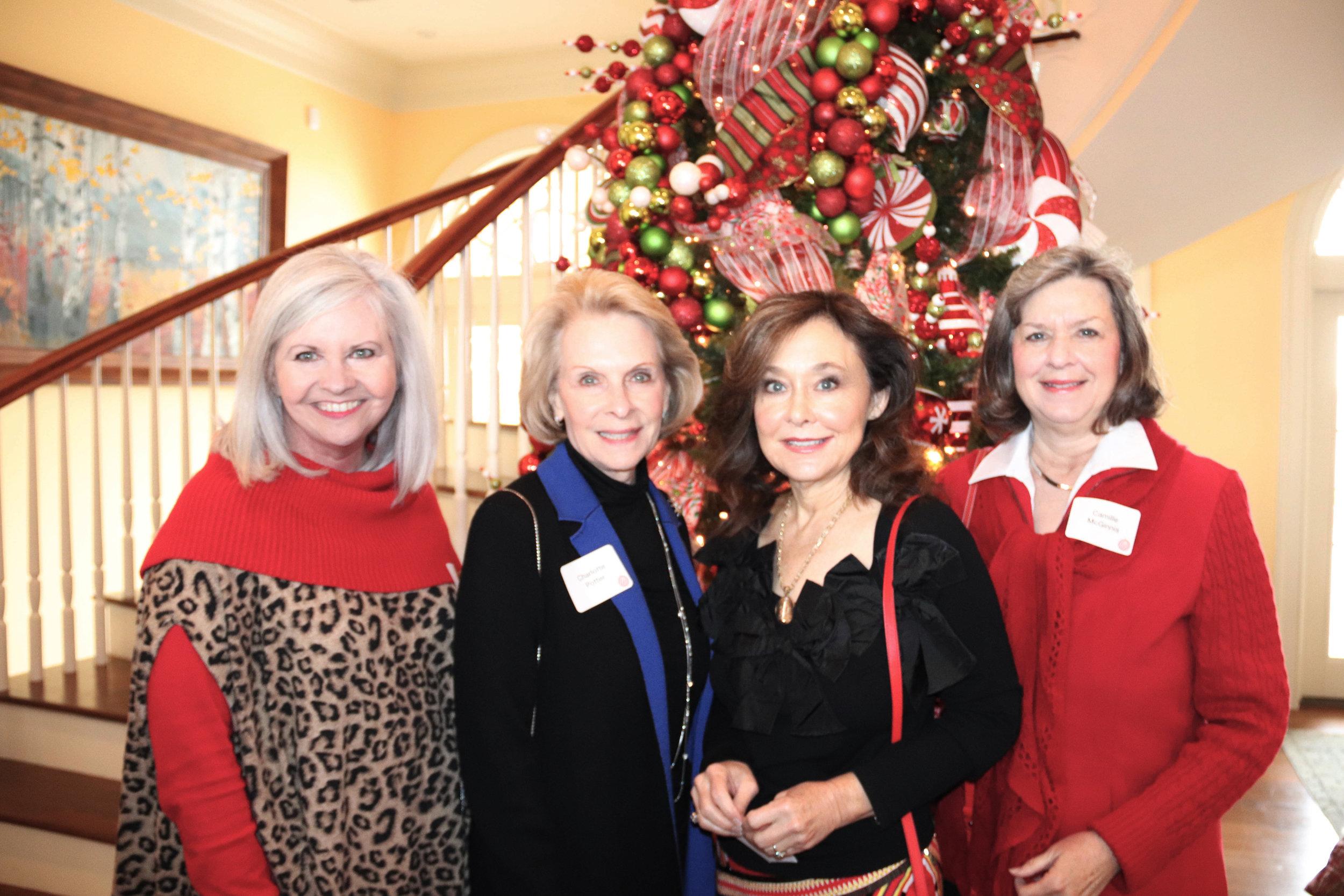 Hon. Sherry Jackson Hawkins, Charlotte Potter, Becky Stuart and Camille McGinnis