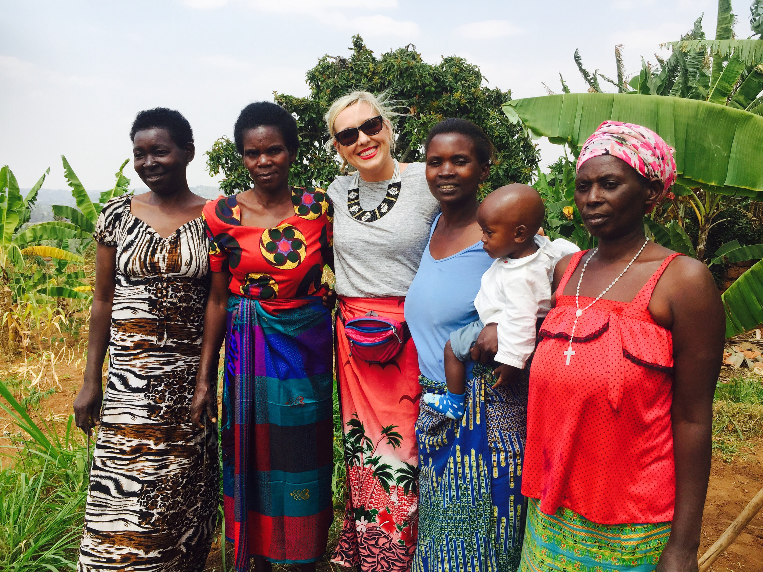 While in rural Muhanga, Southern Province Rwanda in 2016, Cassy spent the day with the women of Aziz Life while doing a community based culture experience.