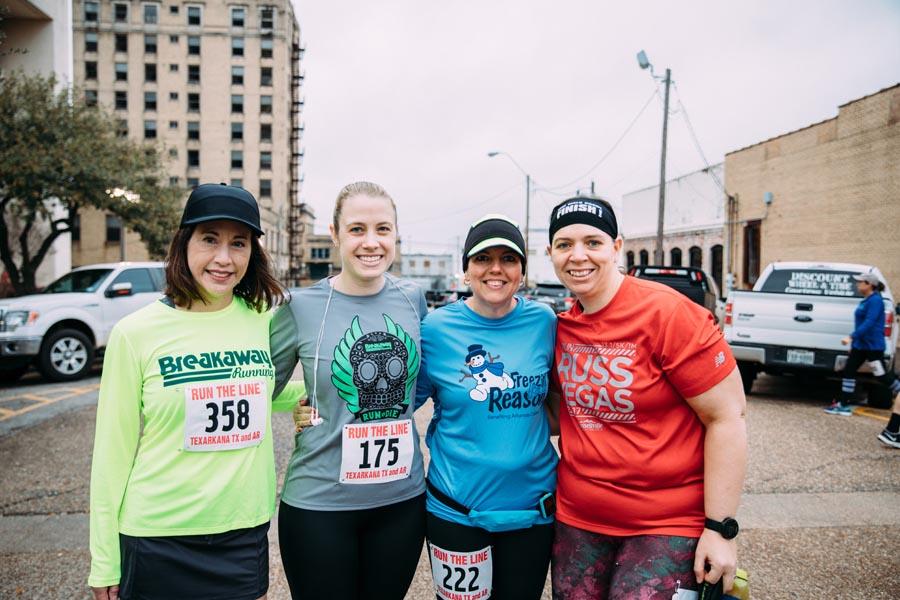 Lisa Harrison, Charity Kemp, LeeAnn Moore and Cassie Patrom