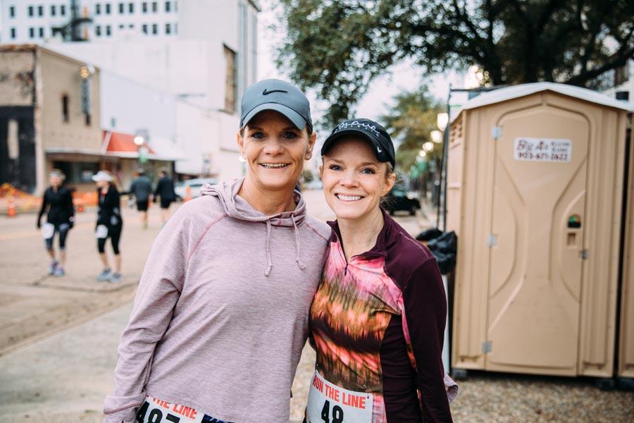 Lisa Barnhart and Donna Laborde
