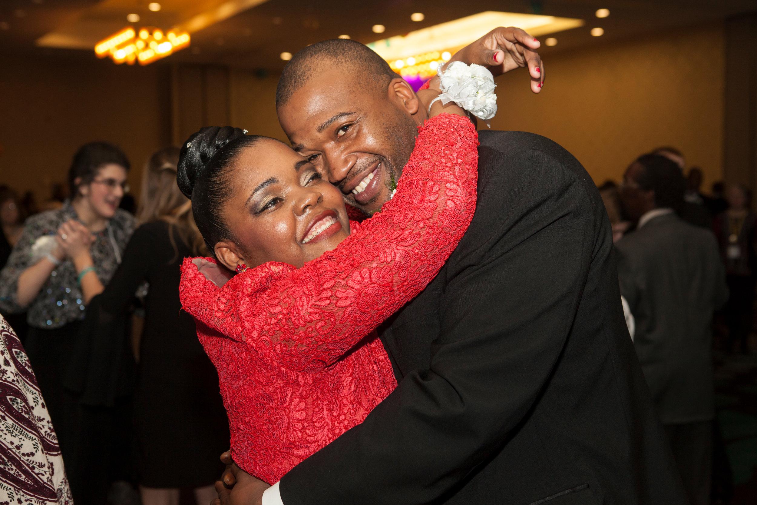 Priscilla Maxi and Chad Valentine