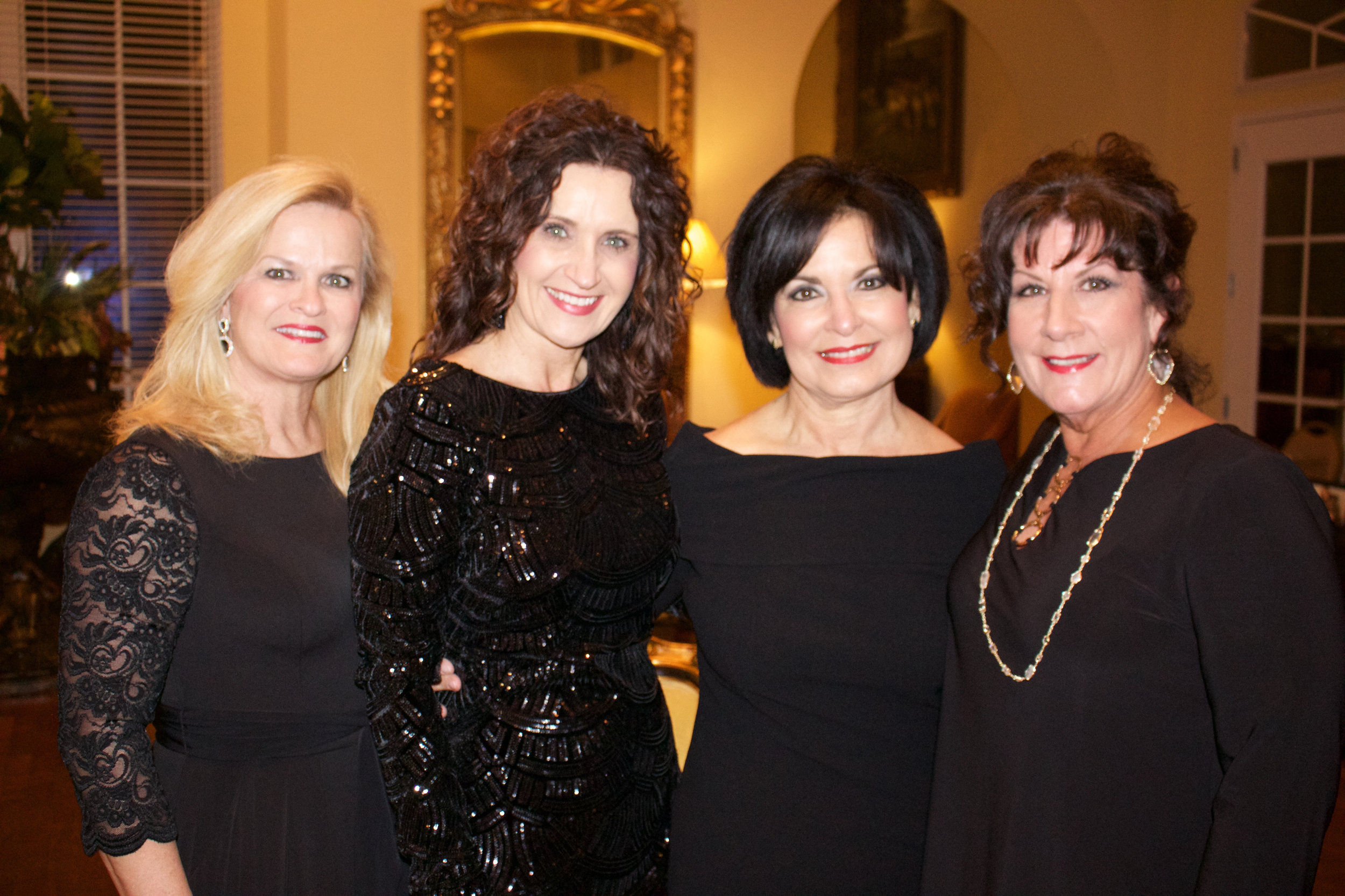 Tanya Dunlap, Terri Giles, Bertha Shipp and Sandy Varner