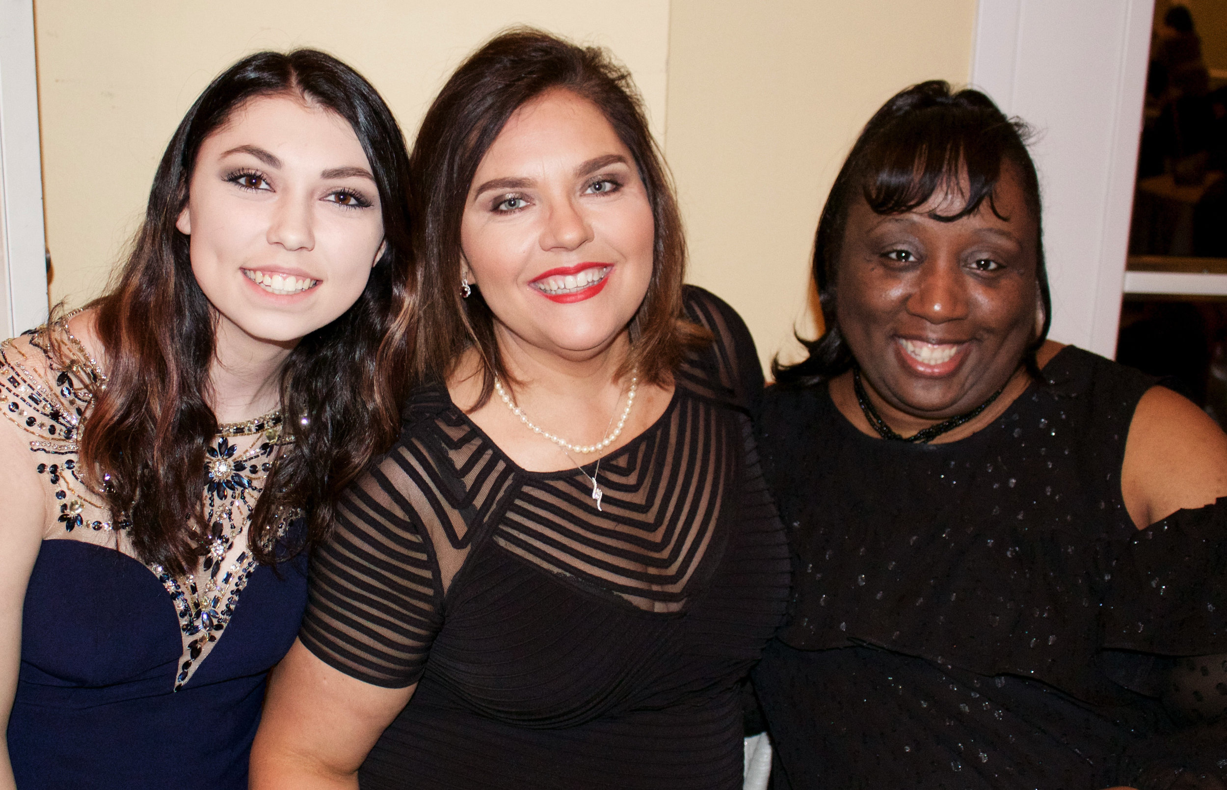 Morgan Pearcy, Carol Pearcy and Lisa Dupree