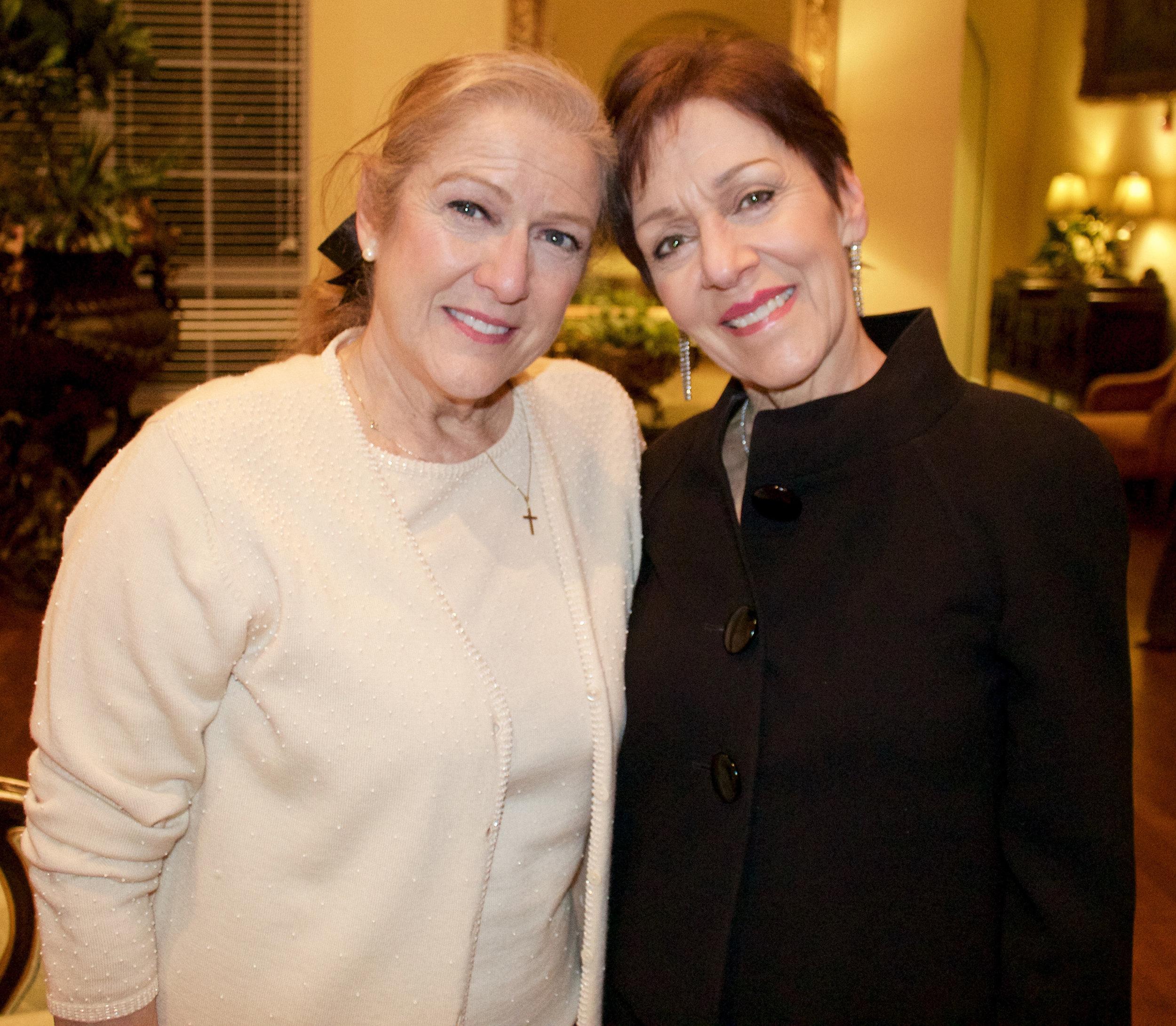 Ann Nicholas and Linda McGrane