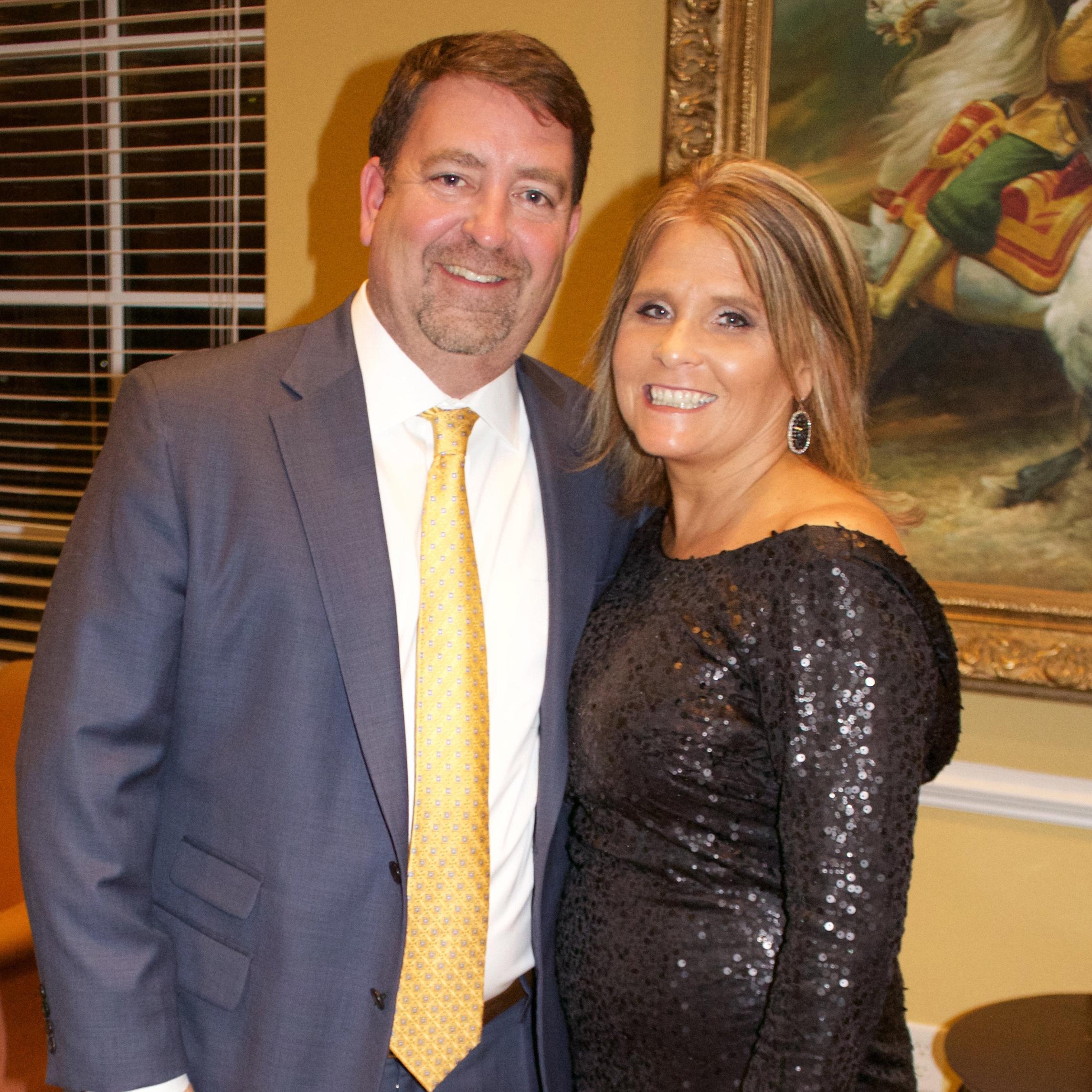 Kevin Kline and Gina Parish