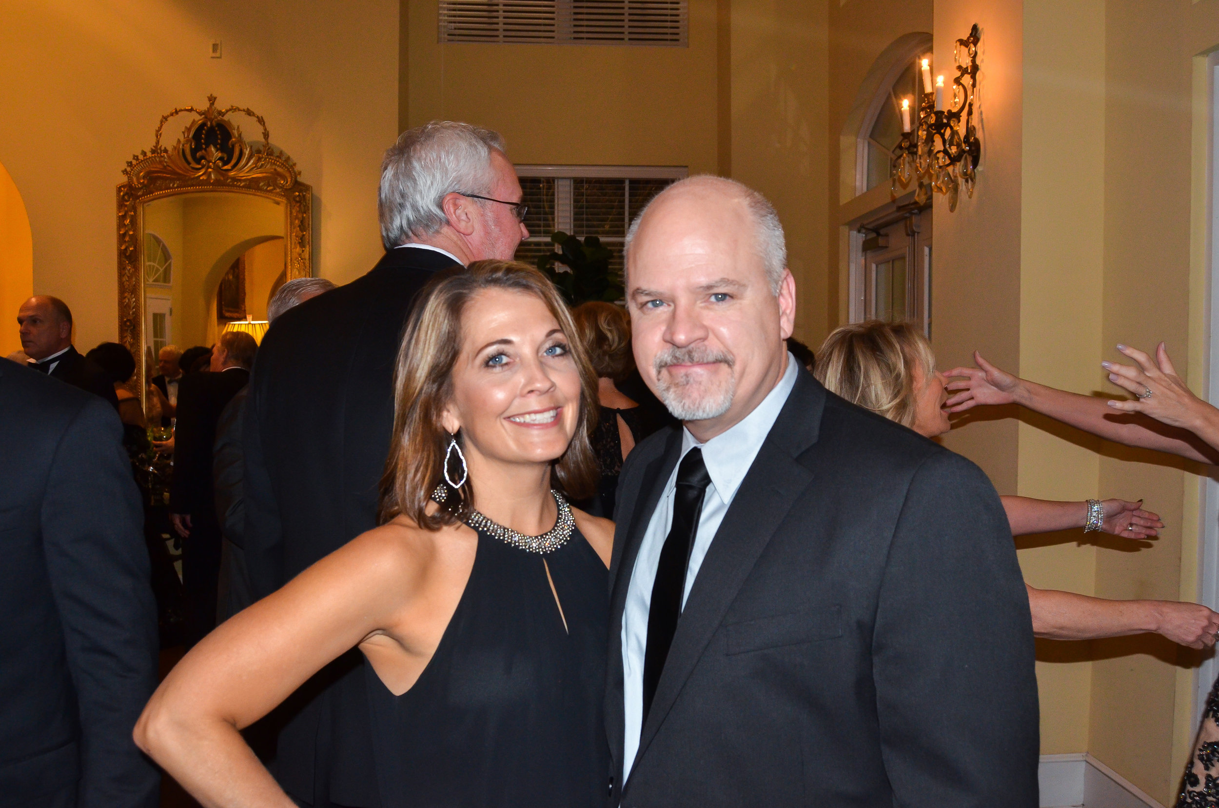 Darla and Mitch Wilf