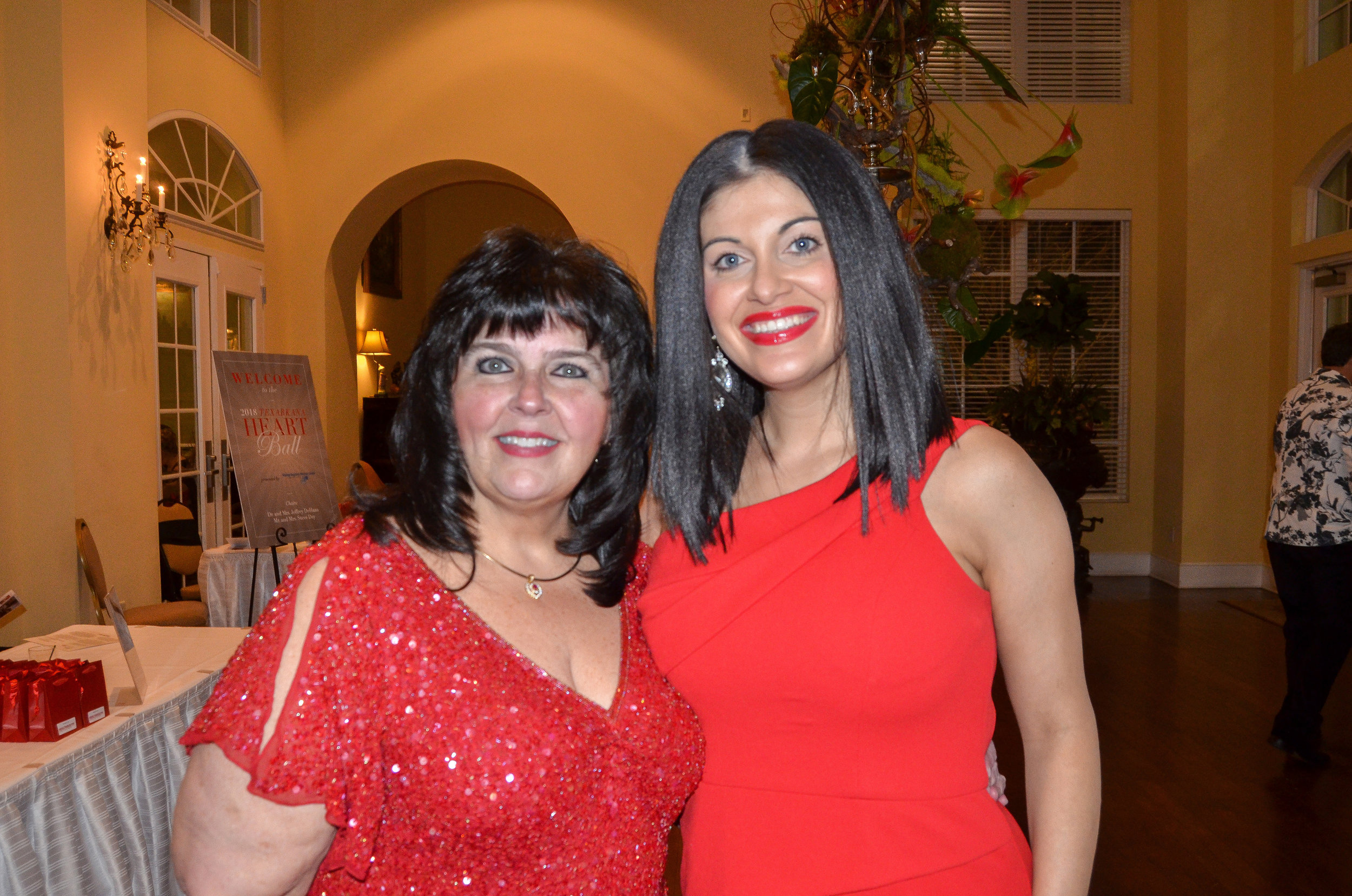 Dr. Cindy Porter and Erica Cain
