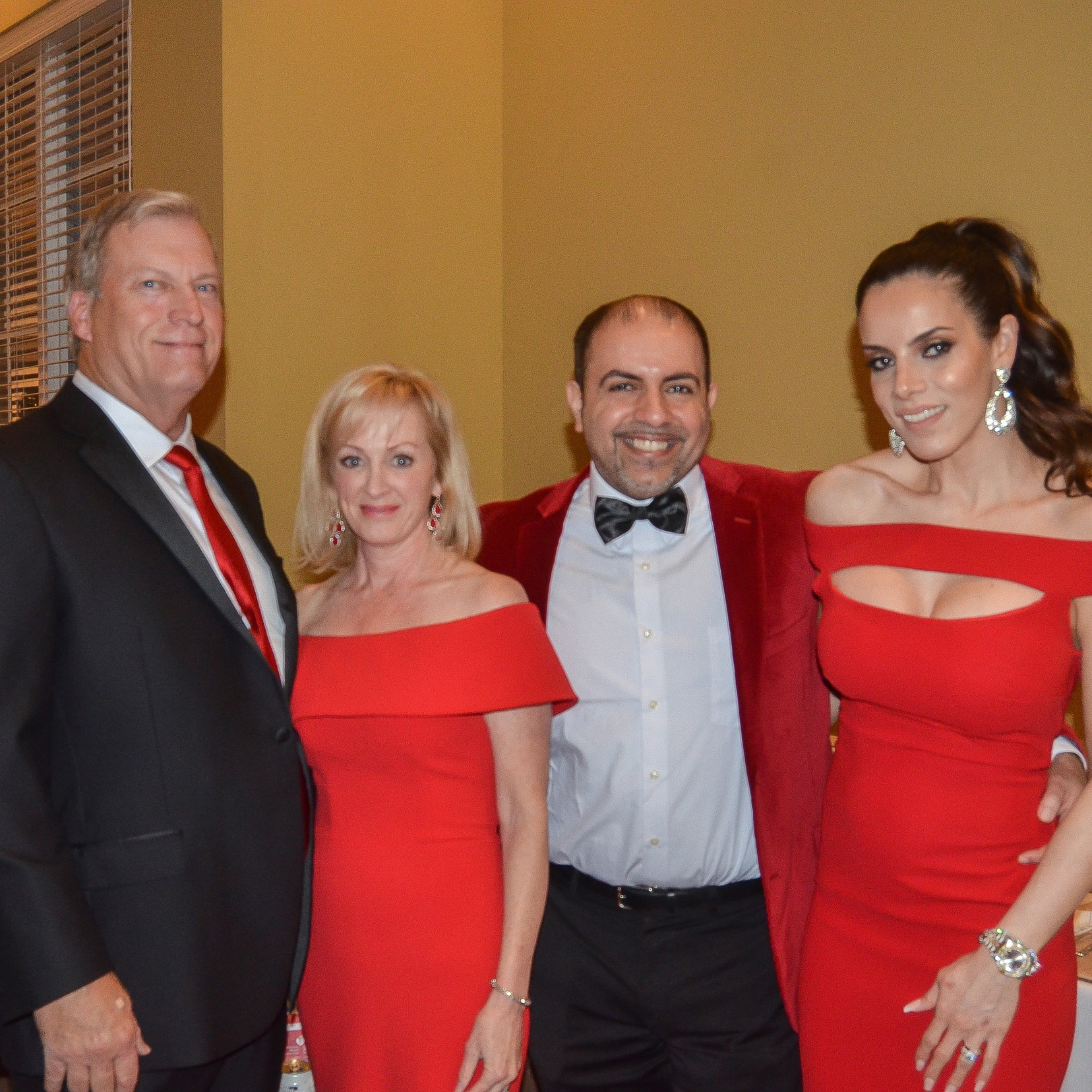 John and Doni Phillips with Dr. Hesham and Layla Hazin
