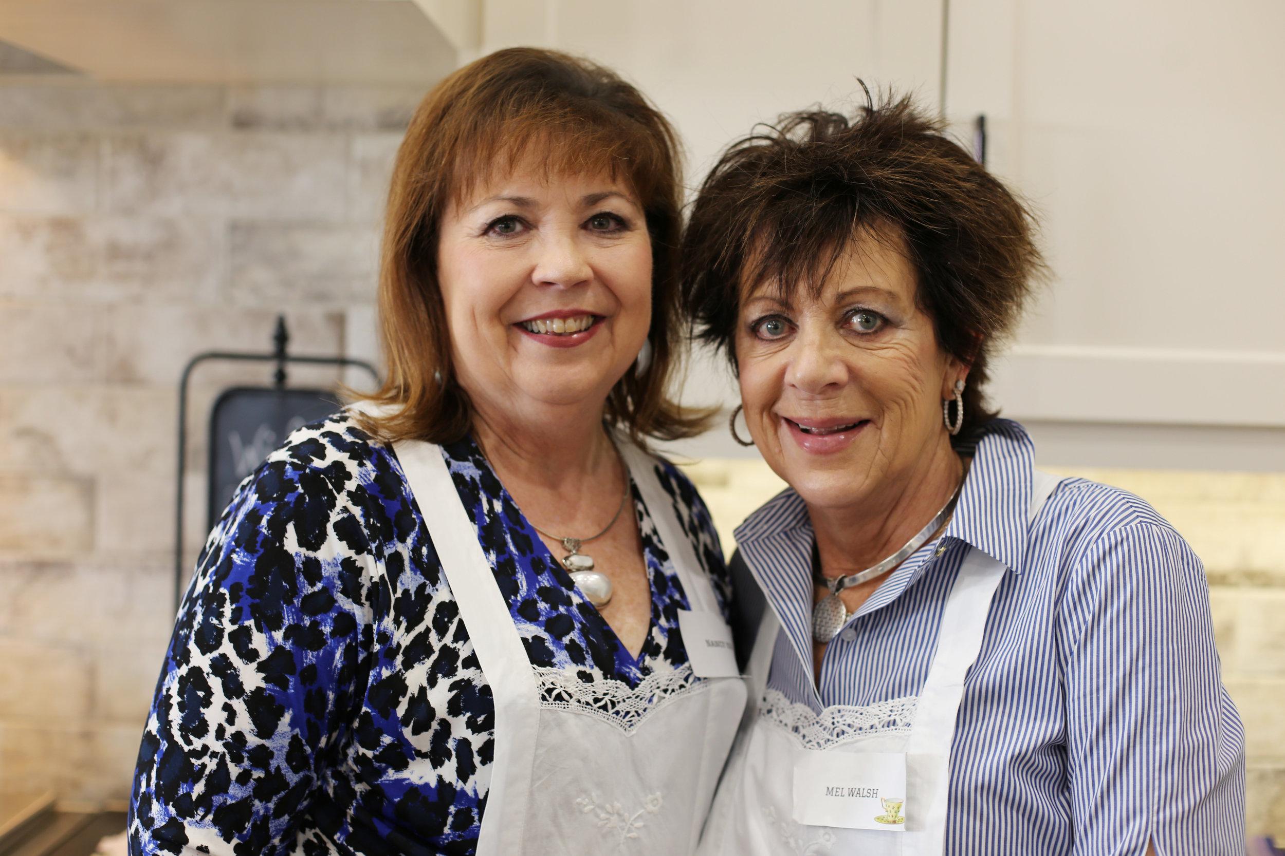 Nancy King and Mel Walsh