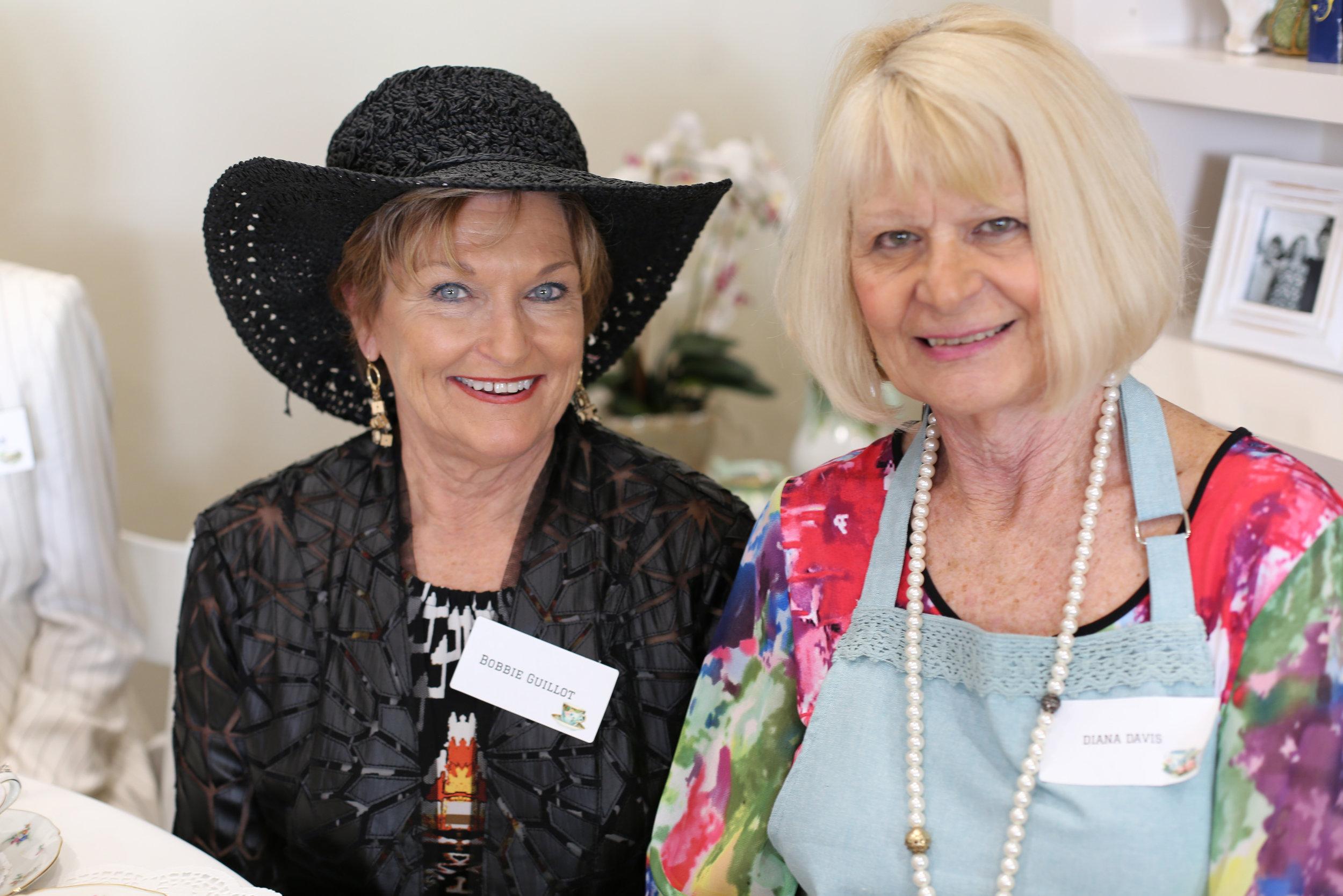 Bobbie Guillot and Diana Davis