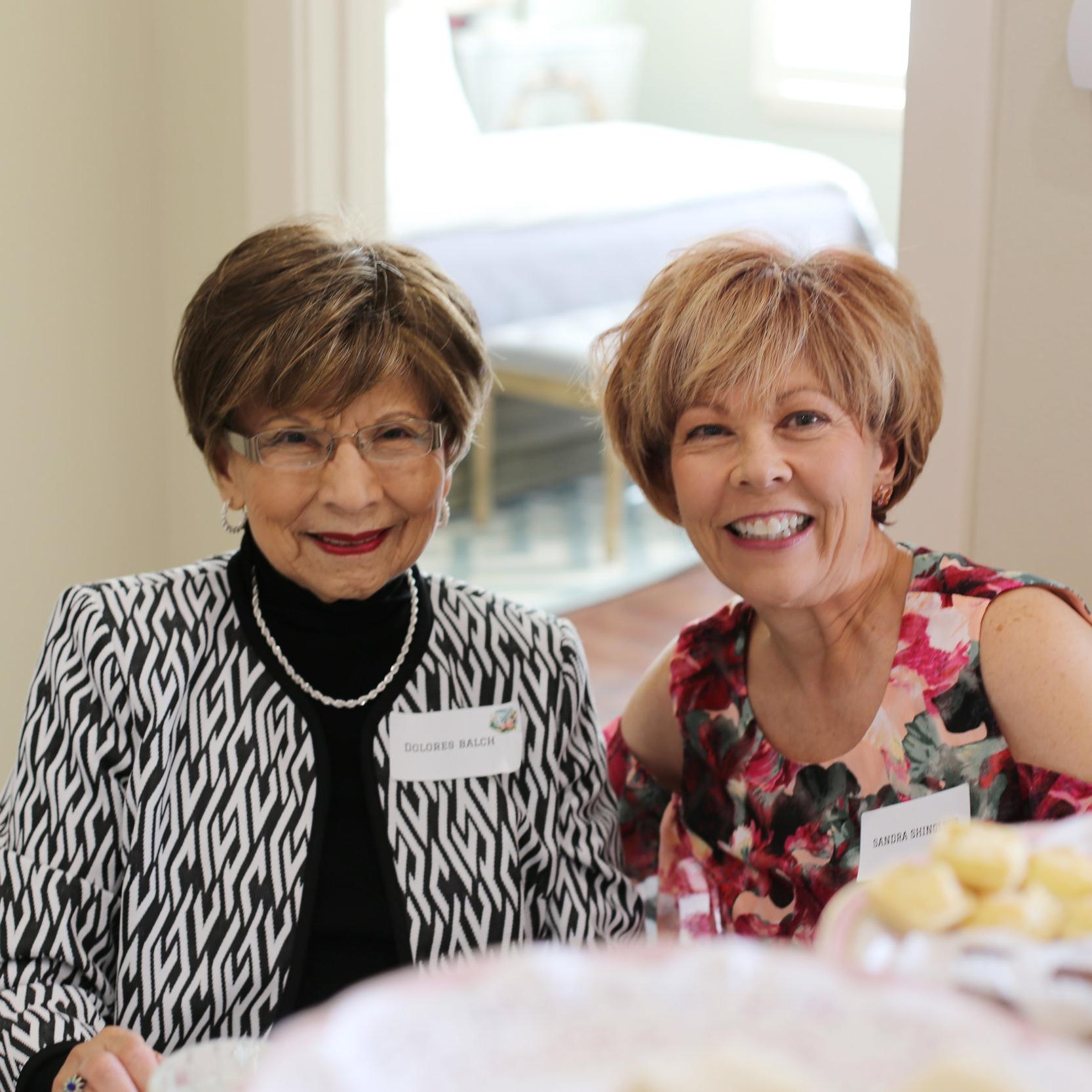 Delores Balch and Sandra Shingleur