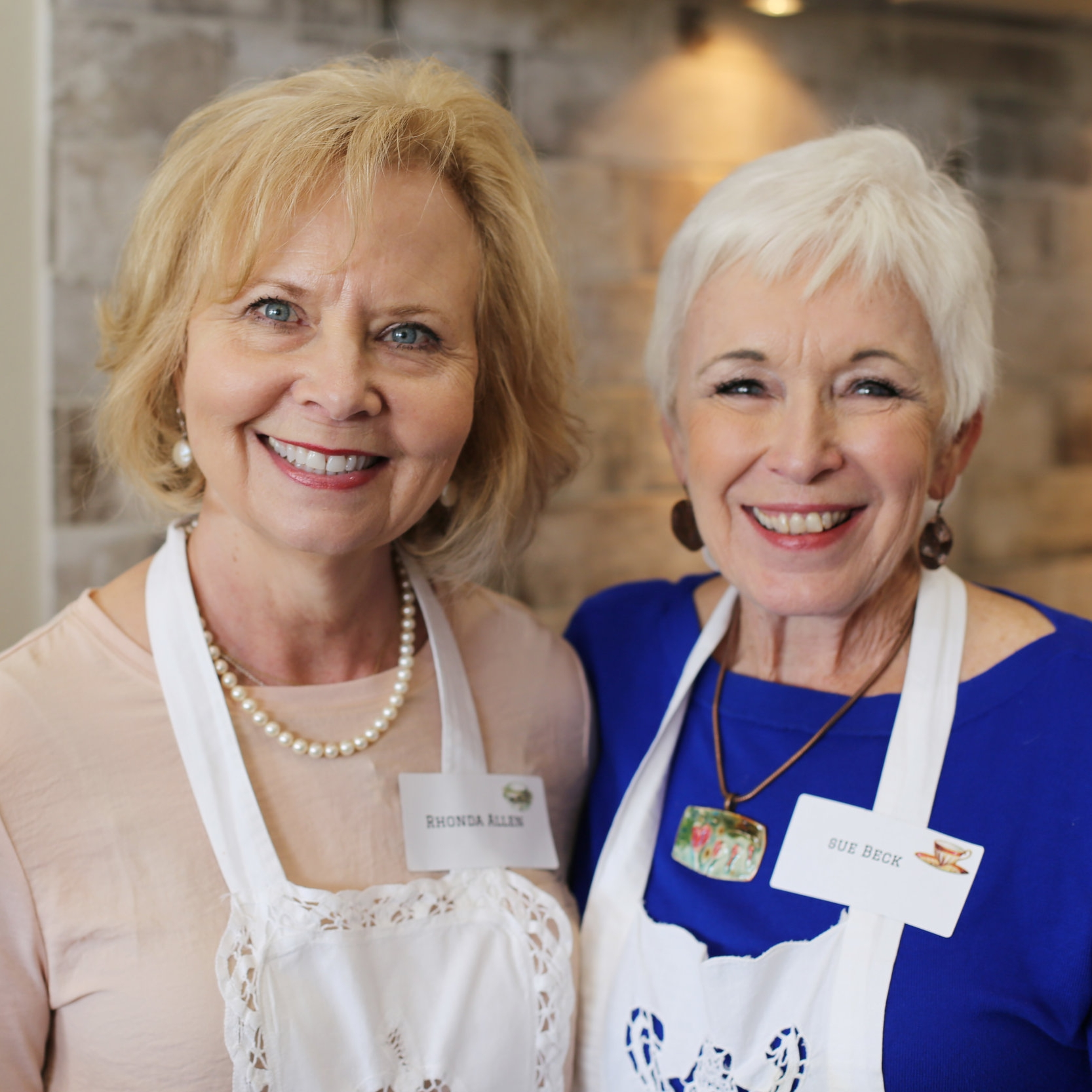 Rhonda Allen and Sue Beck
