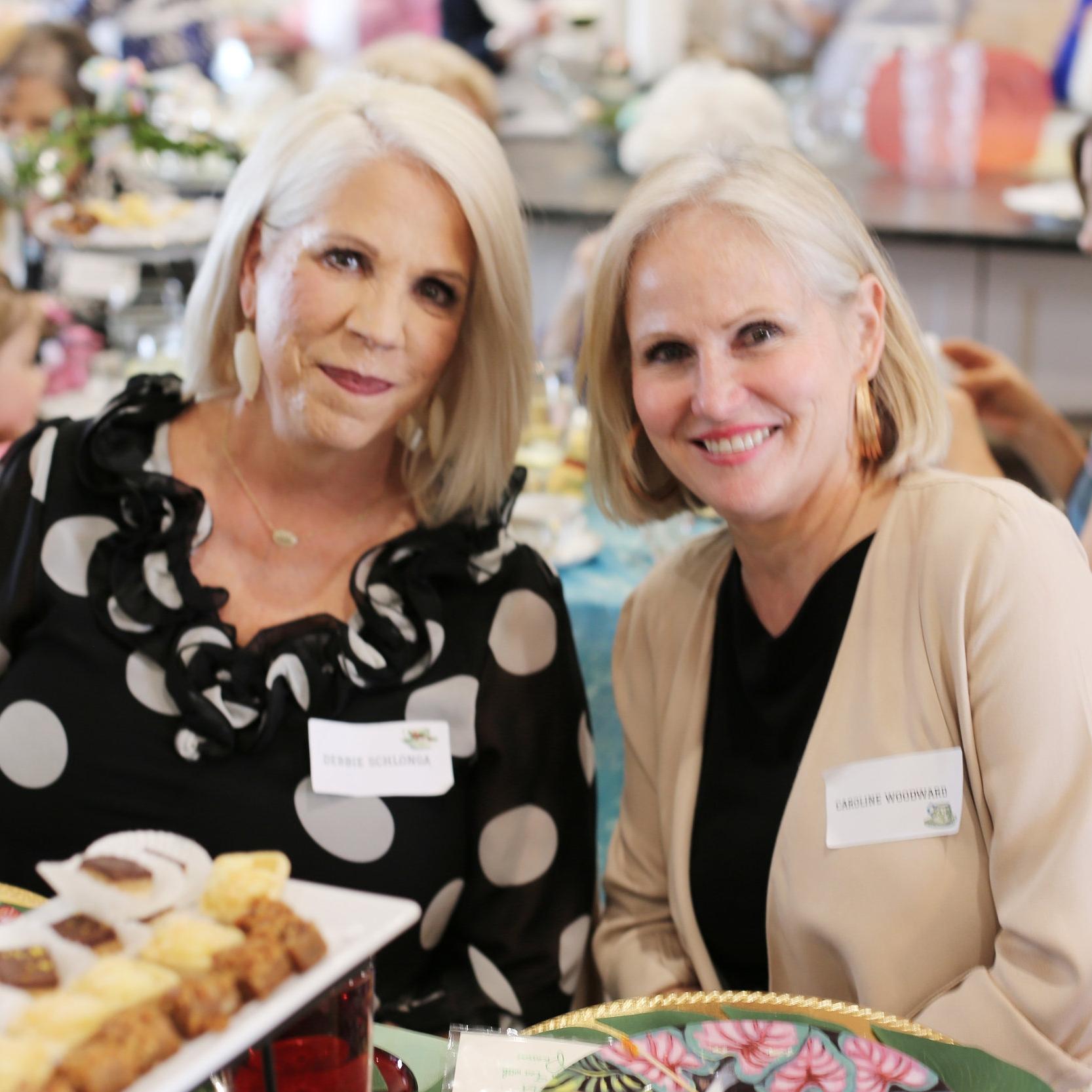 Debbie Schlonga and Caroline Woodward