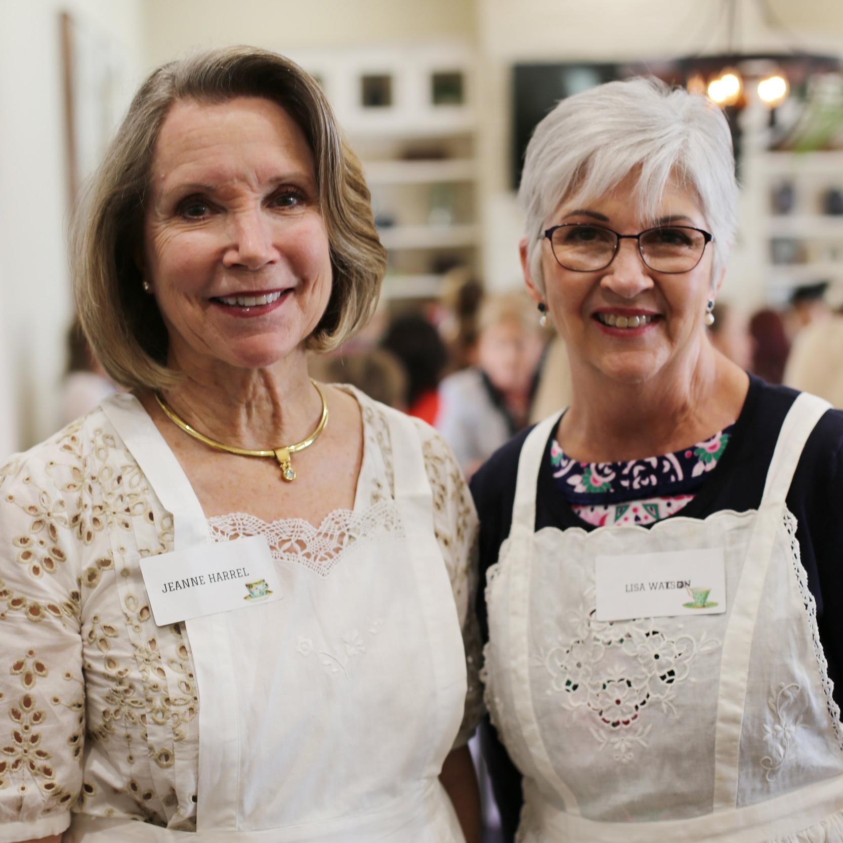 Jeanne Harrel and Lisa Watson
