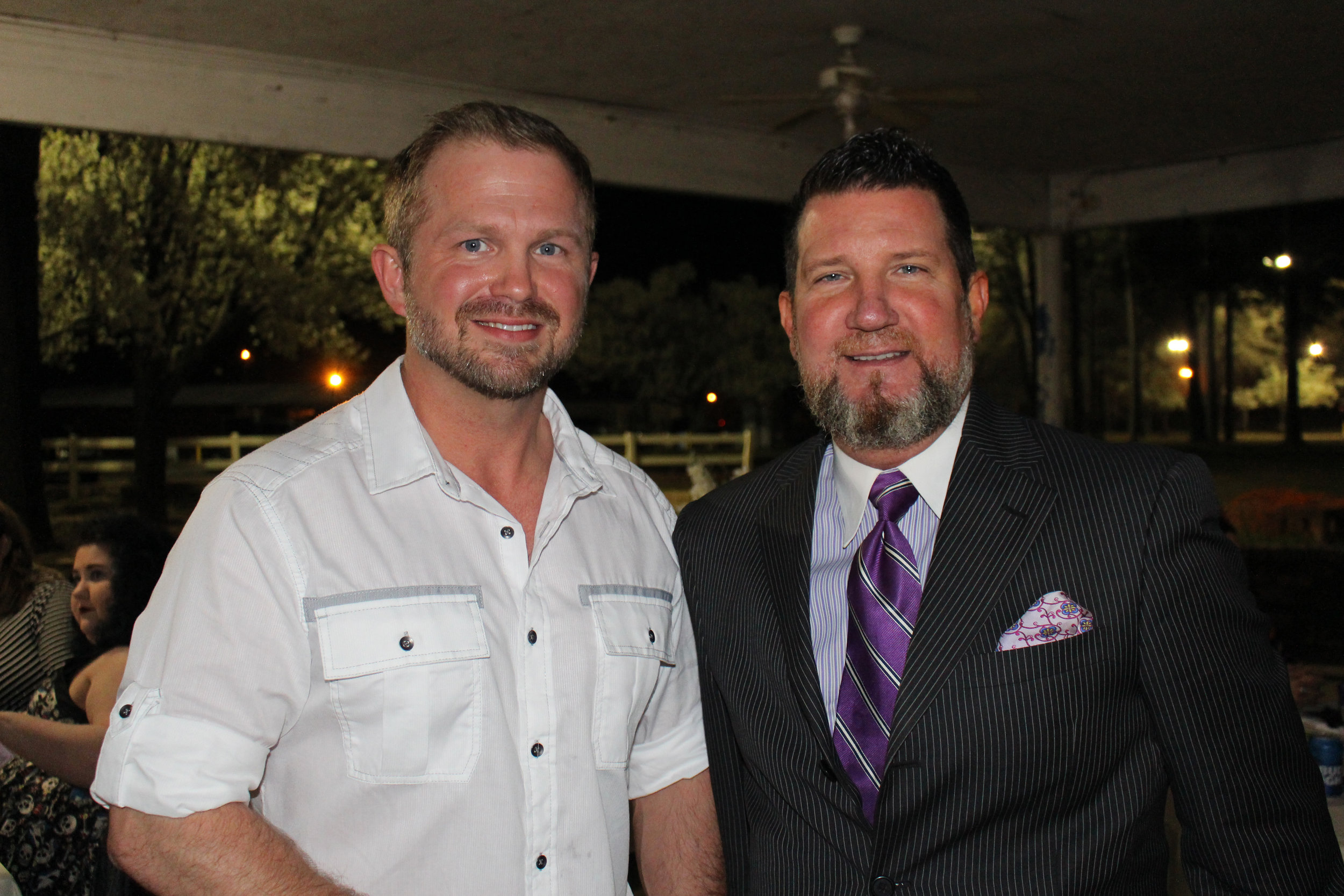 Jimmy Cockrum and Jay Hall