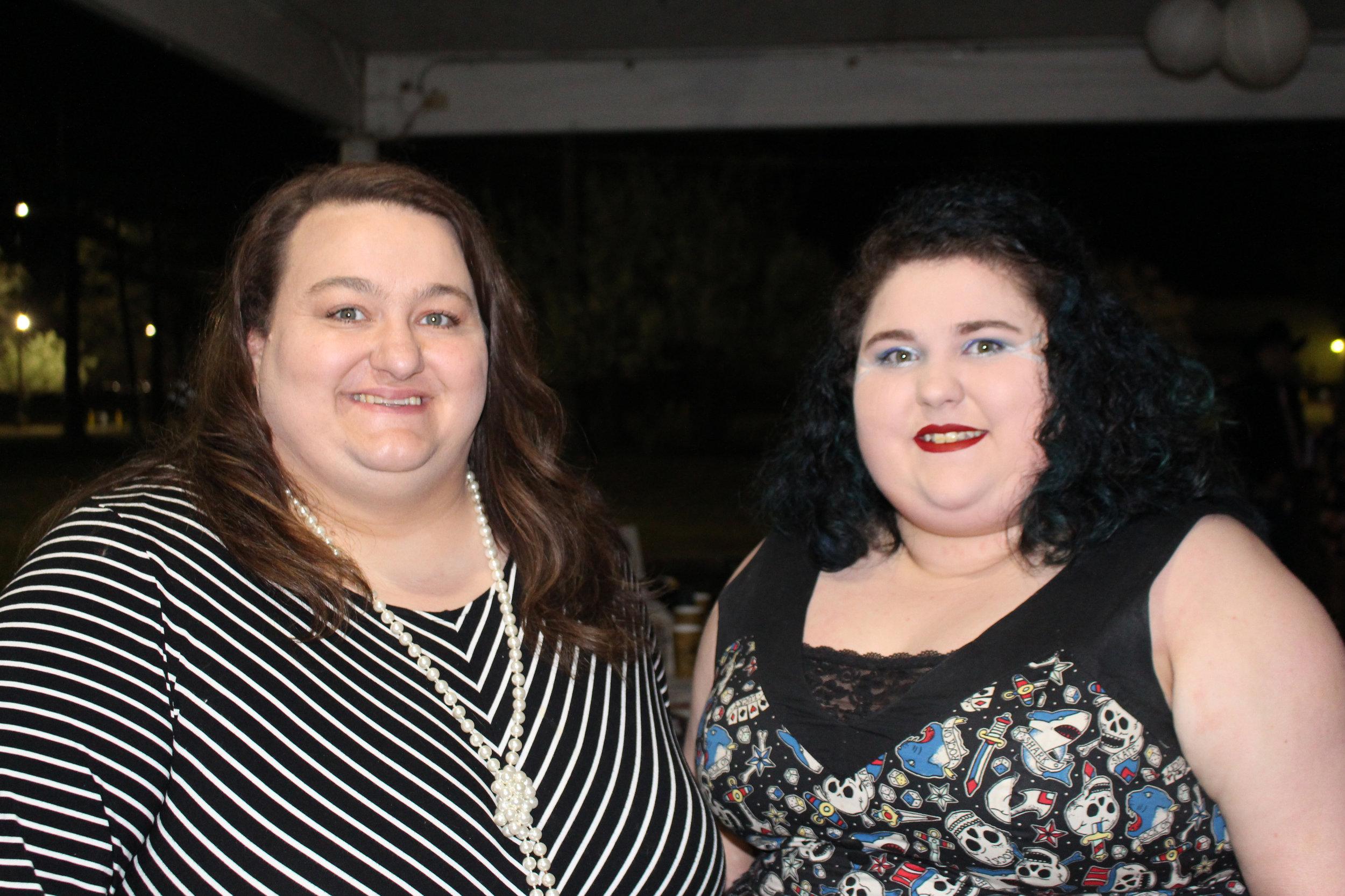 Donna Butler and Priscella Butler