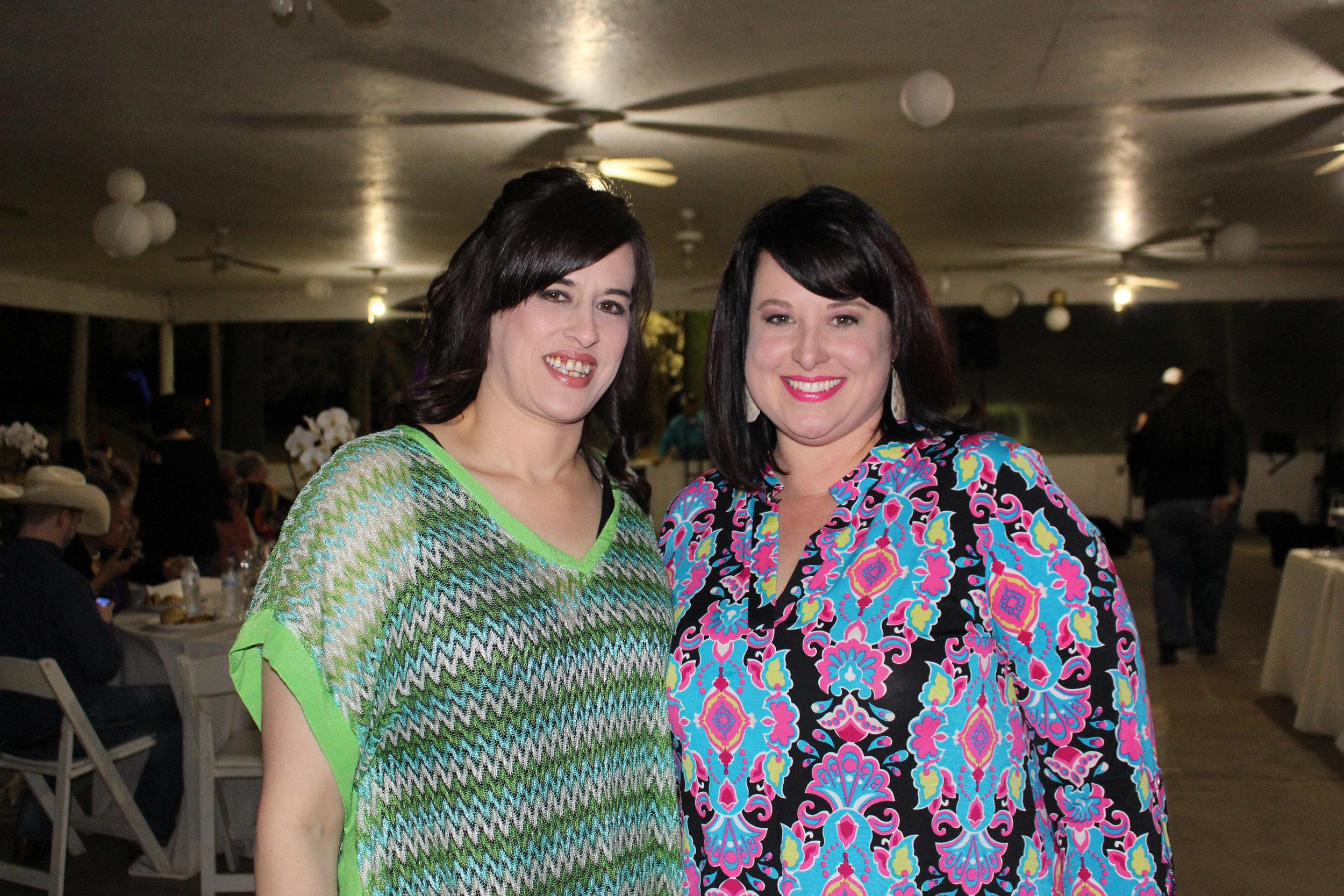 Shelly Sizemore and Karen Dillinger