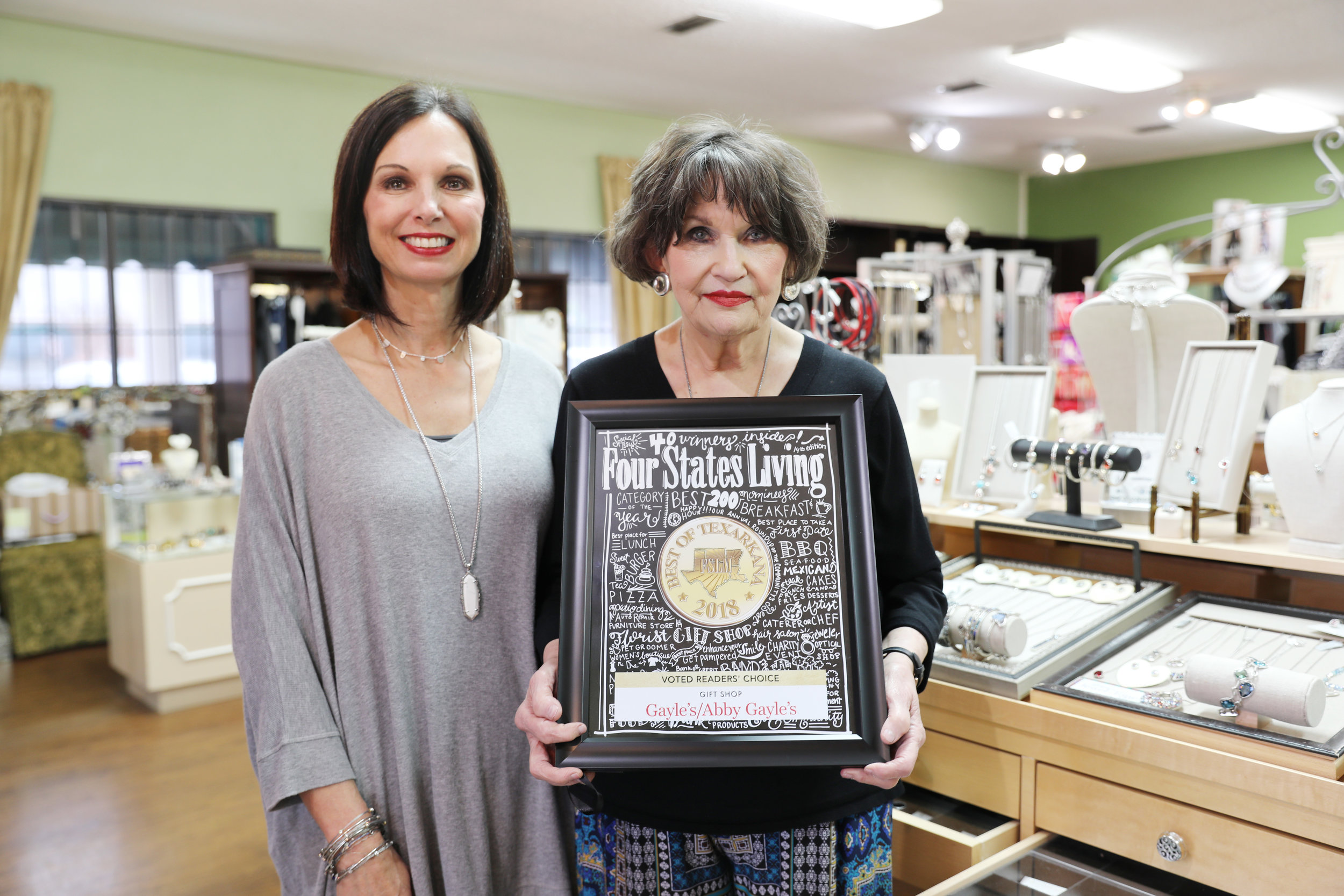 GAYLE'S/ABBY GAYLE'S – Melinda Vammen and Gayle Hines