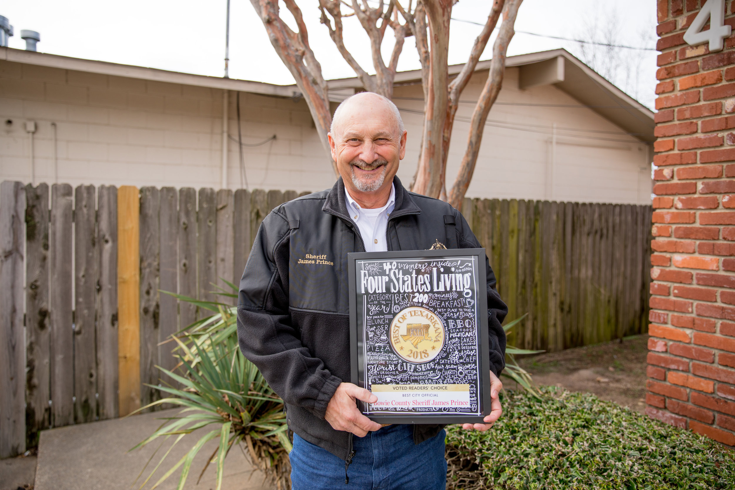 BEST CITY/COUNTY OFFICIAL – Bowie County Sheriff James Prince