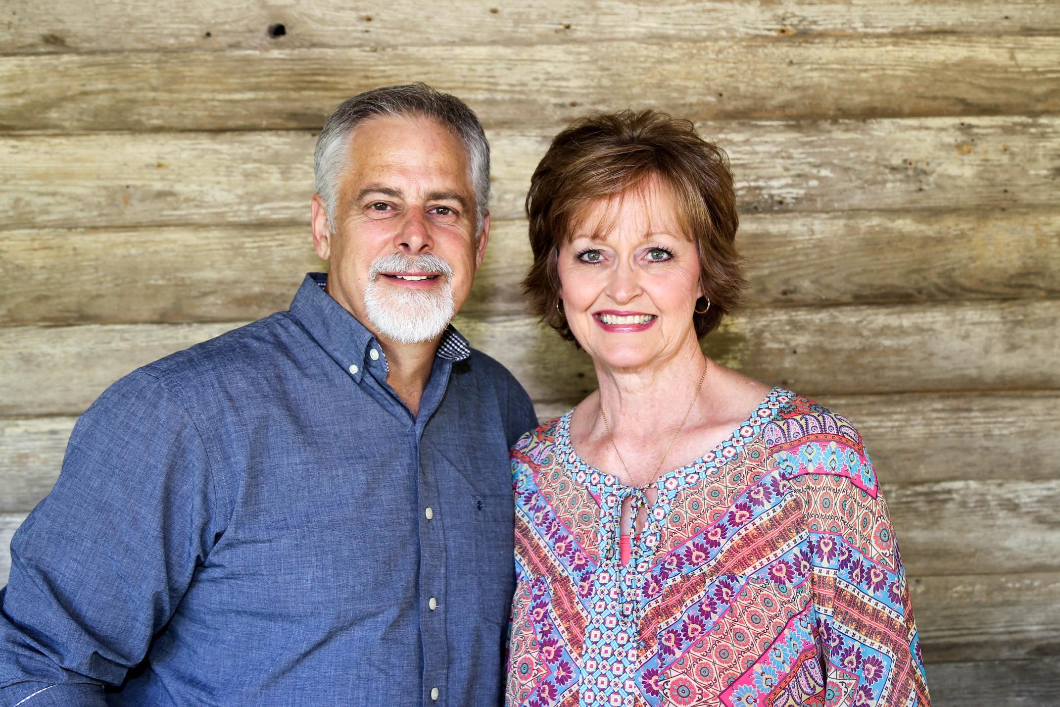 Chuck and Karen enjoying a trip to Old Washington, Arkansas, last year.