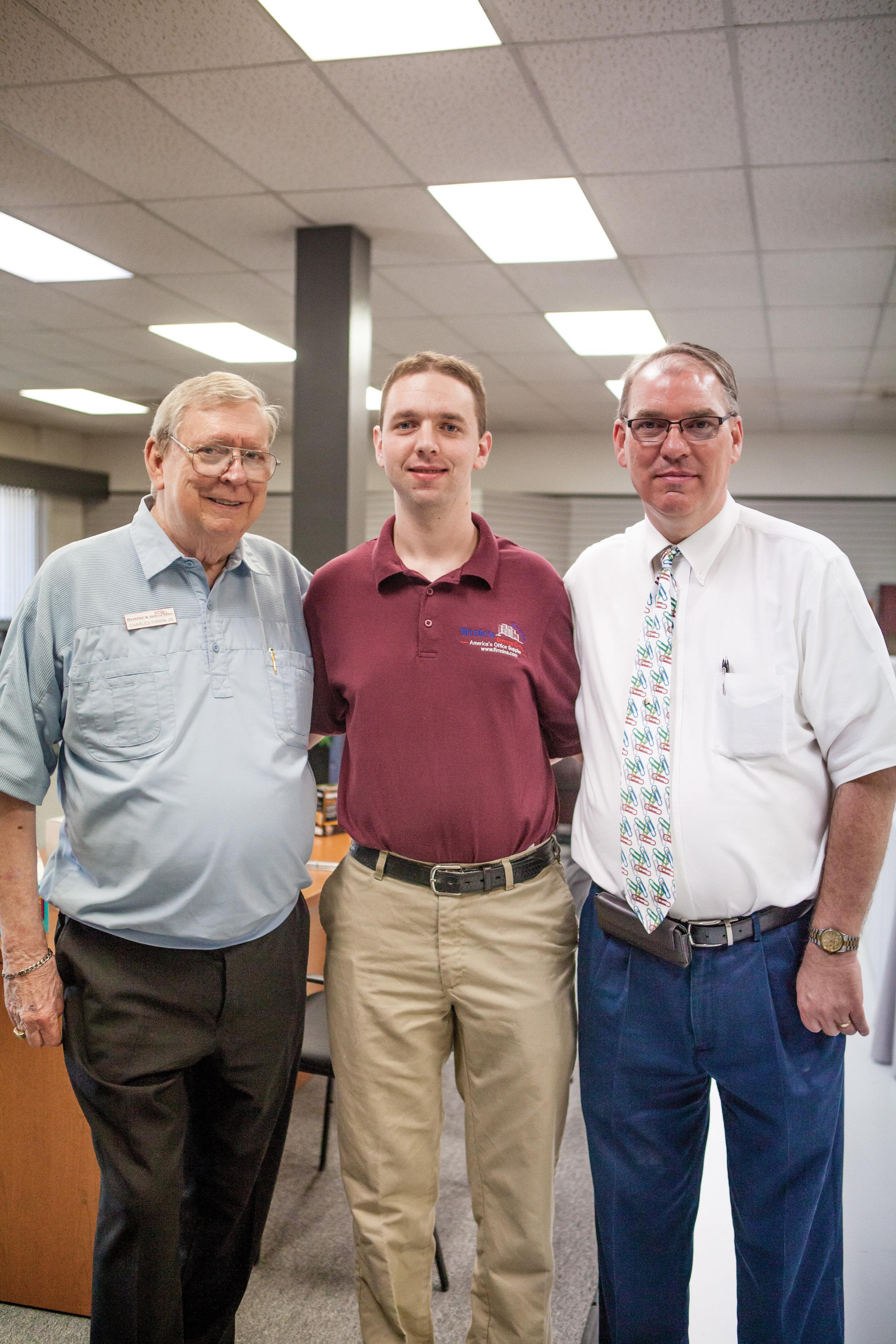 Charles Firmin, Jr., Steven Firmin and Chuck Firmin