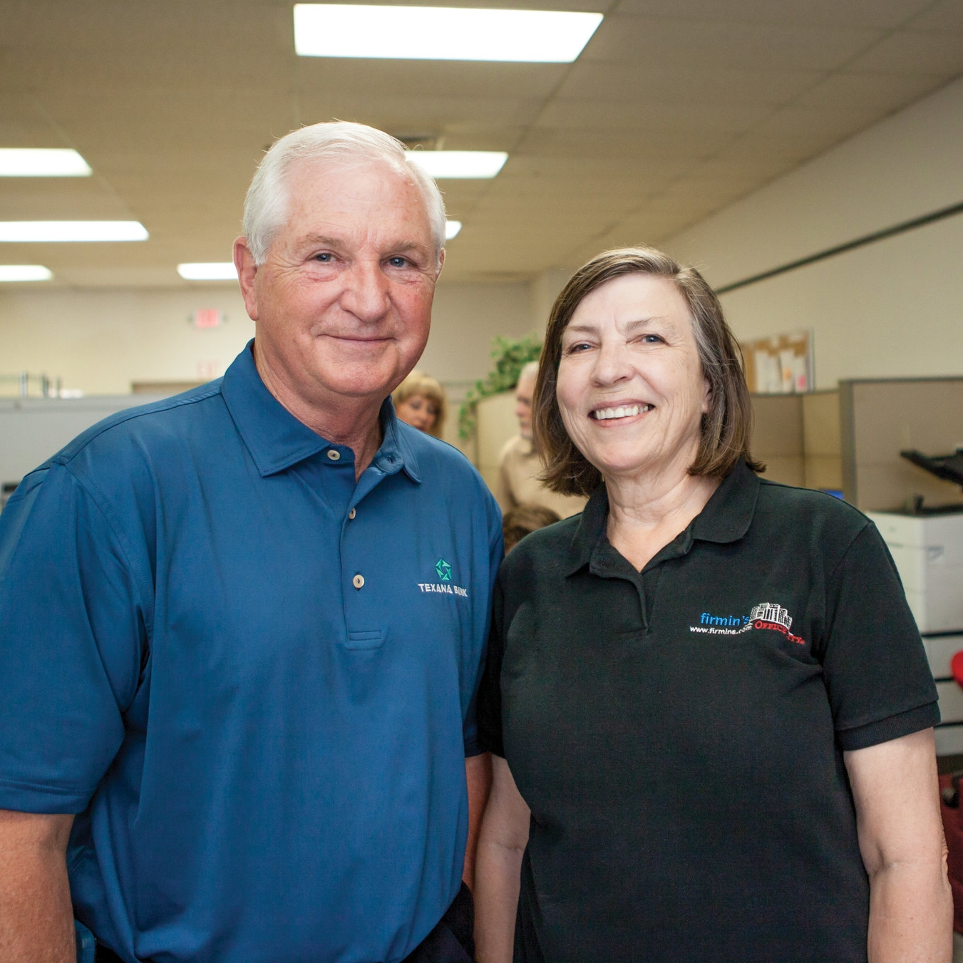 Ted Kelton and Molly Cox