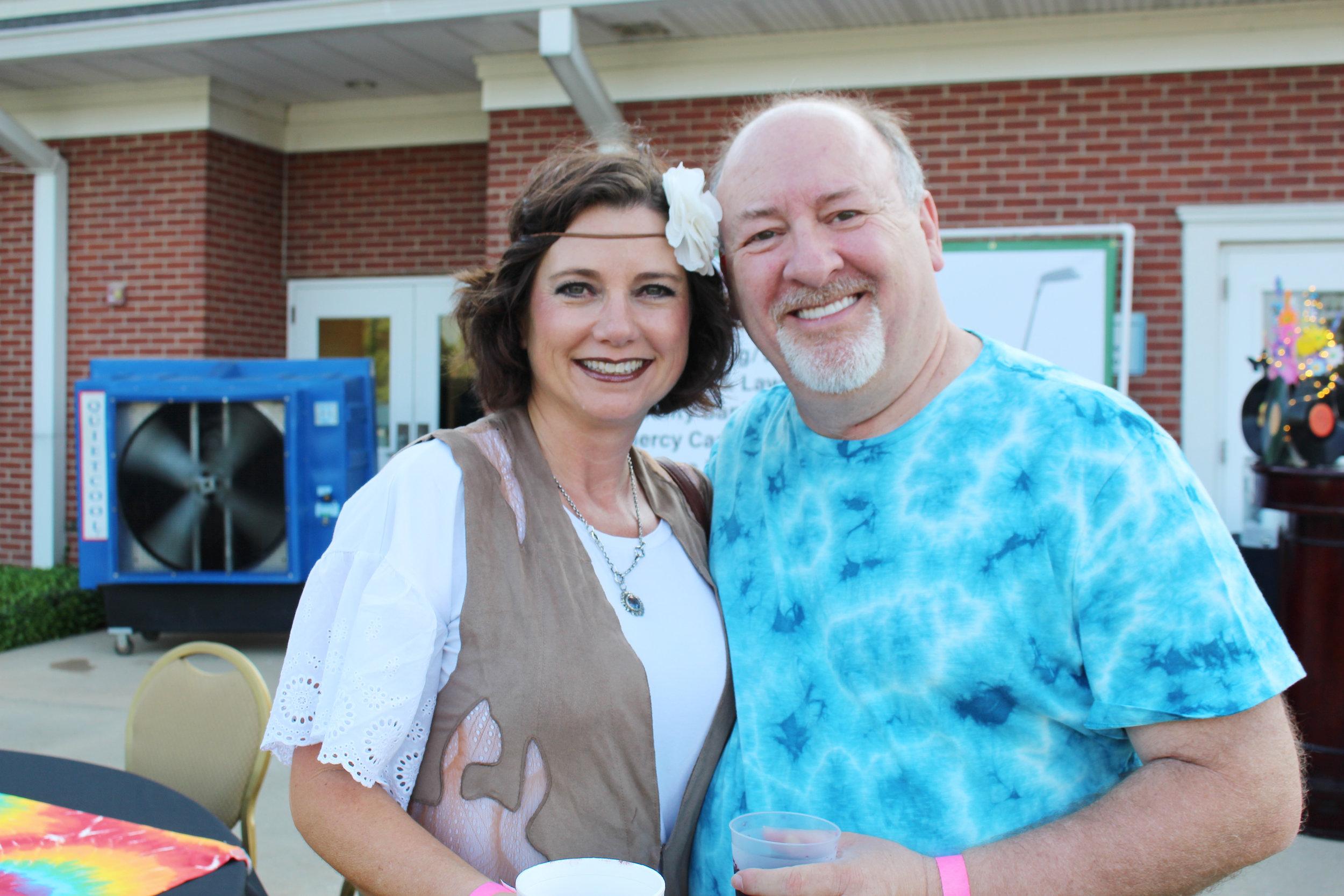 Lesa and Tony Asbille