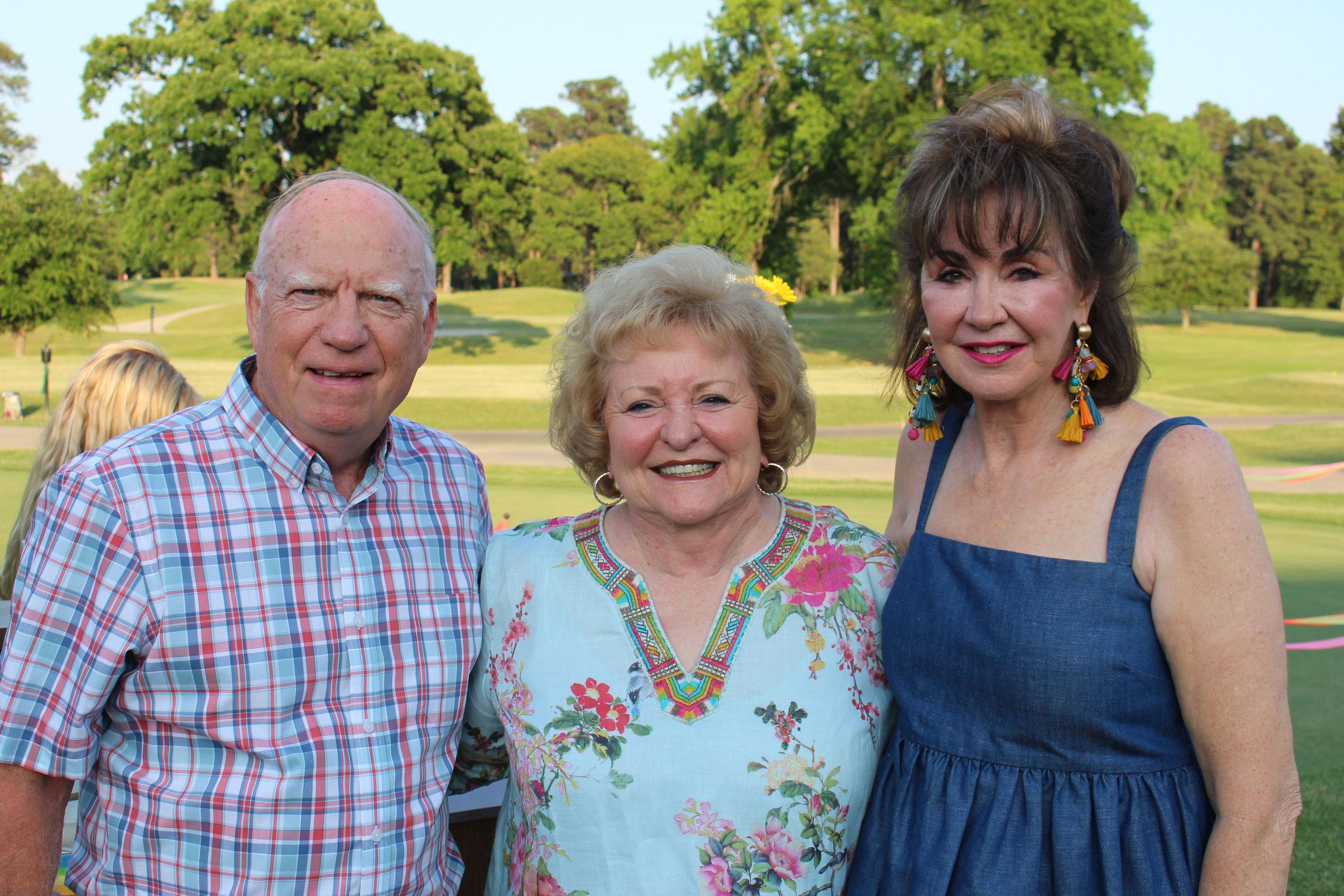 Judge Jack and Joan Carter with Judy Morgan