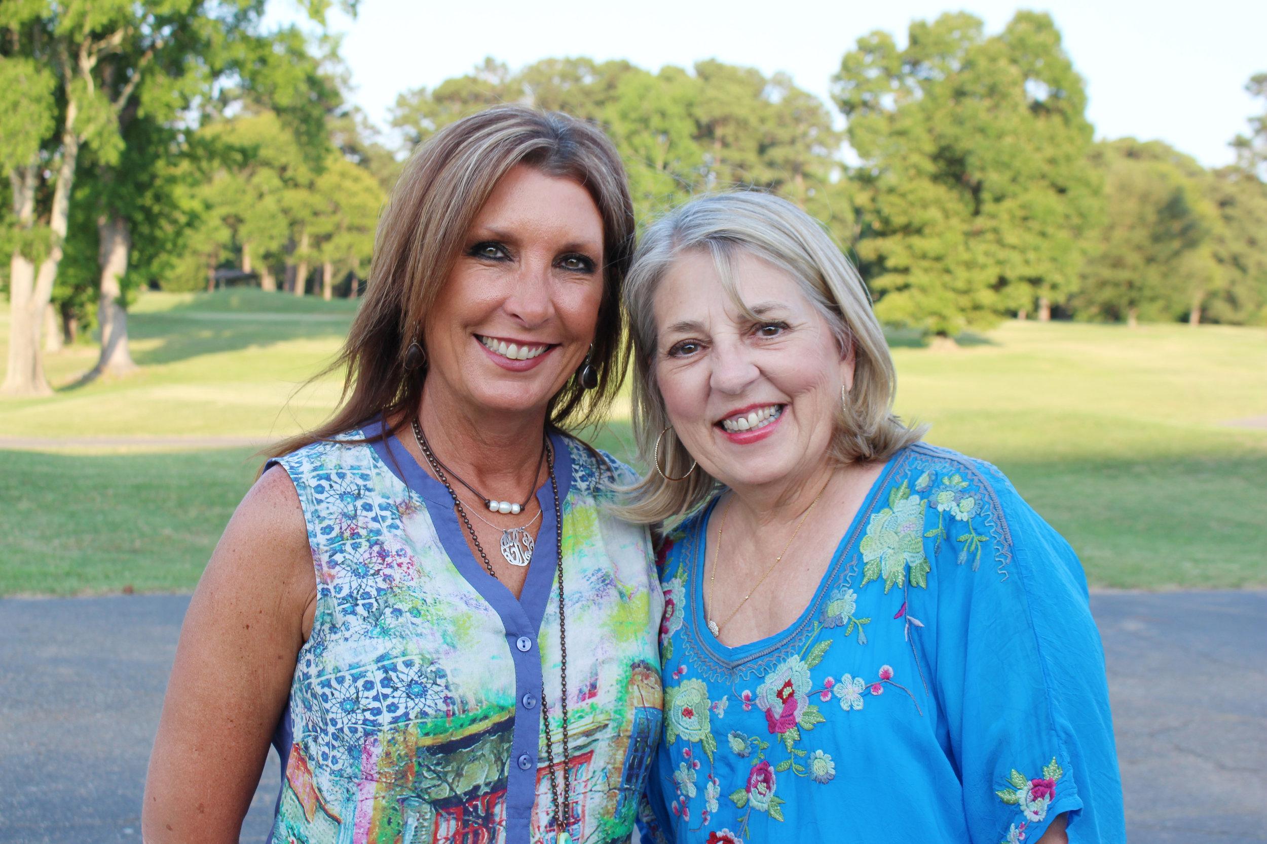 Lauree Romero and Gayle Wright