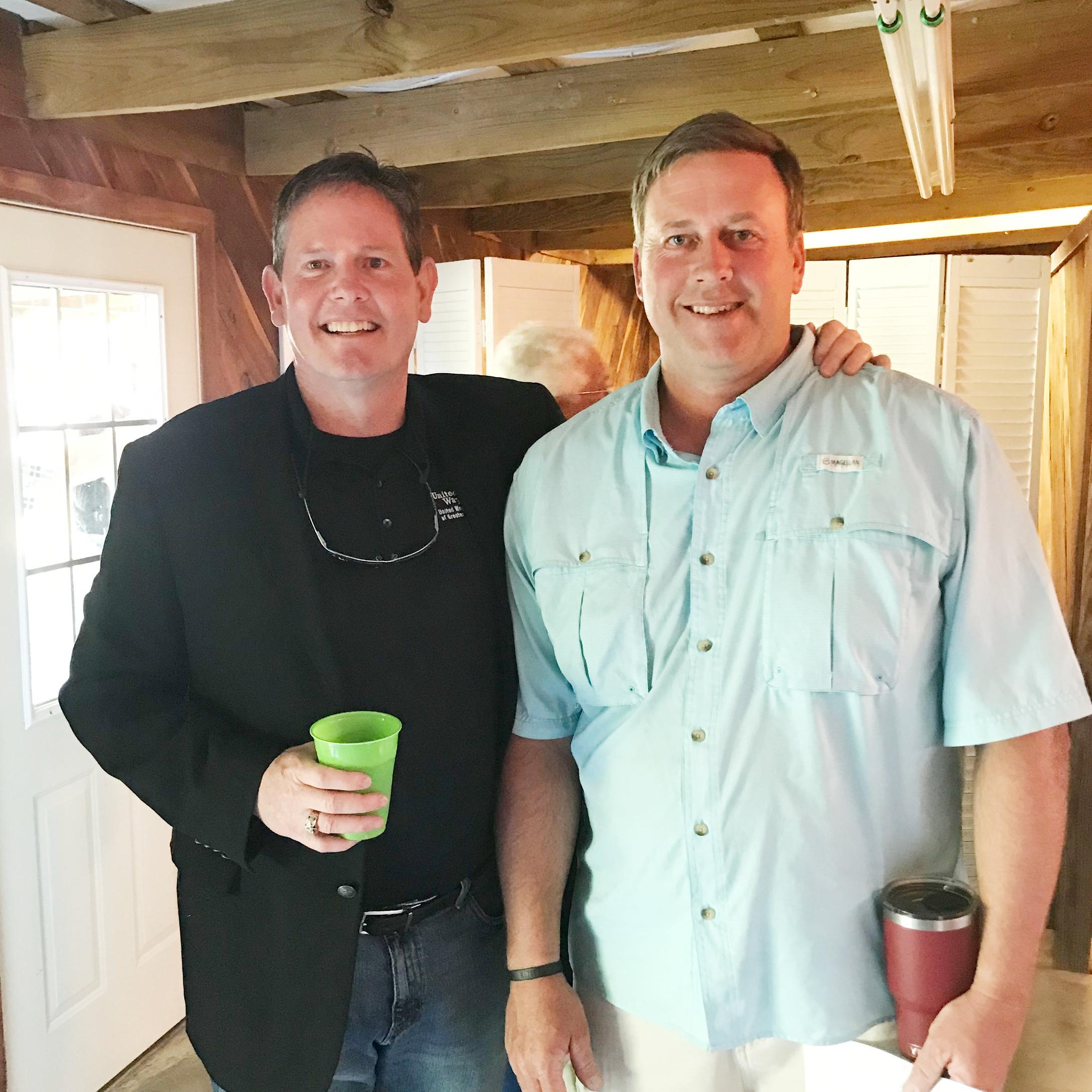 Mark Bledsoe and Glen Scarborough