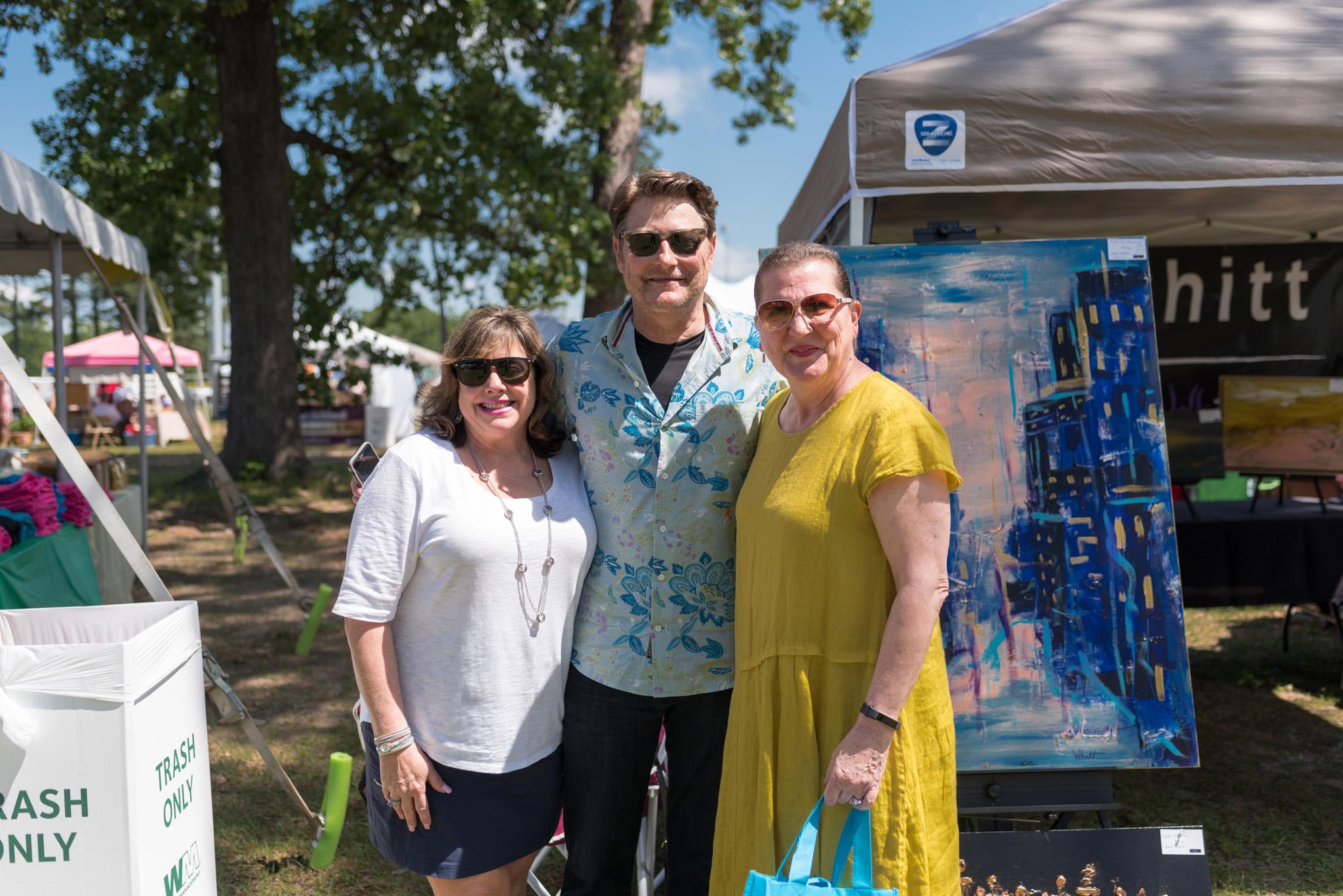 Lynn and Dr. Paul Whitt with Kaye Ellison