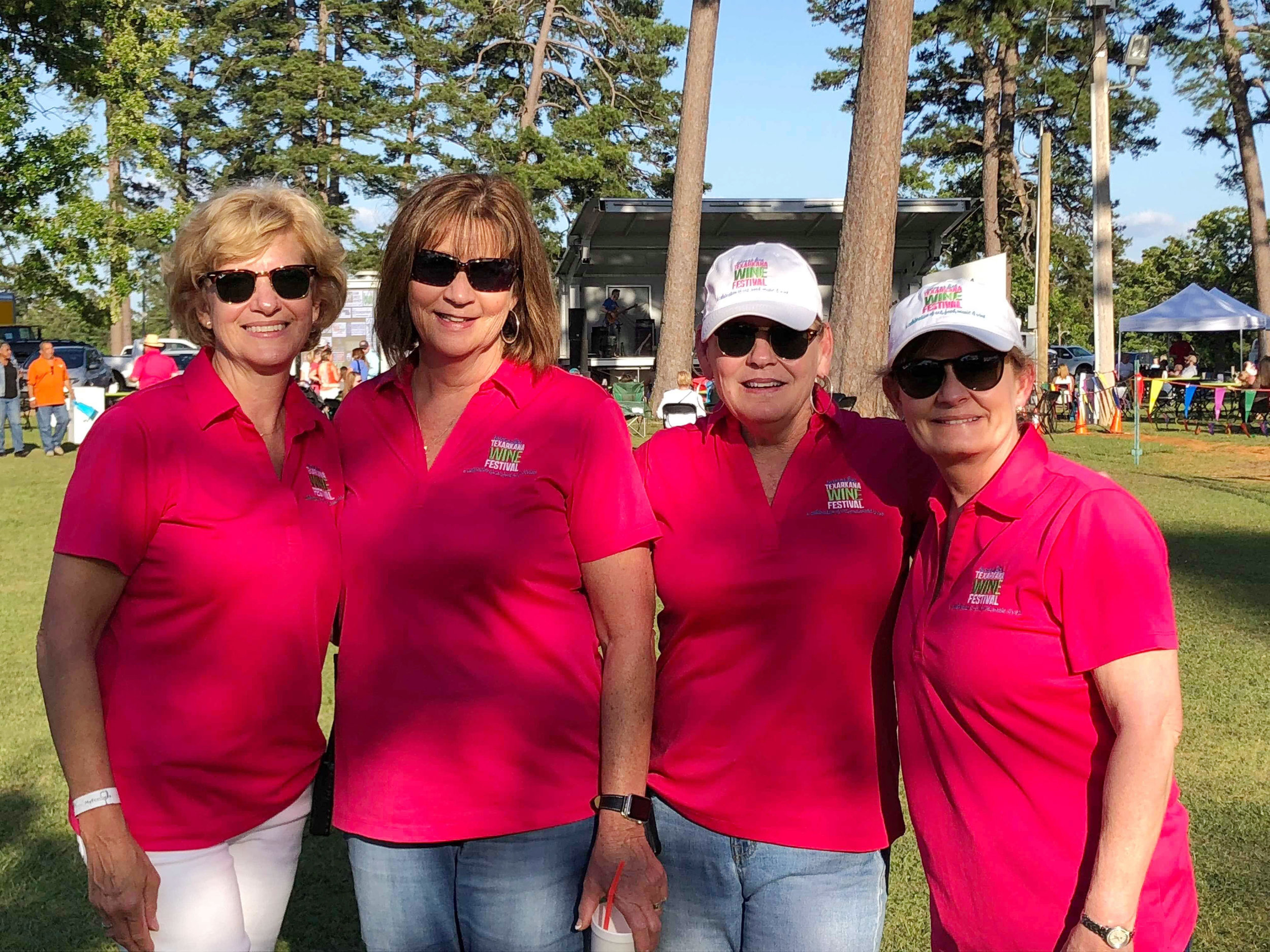 Cathy Van Herpen, Andrea Washington, Terrie Arnold and Brenda Sutton