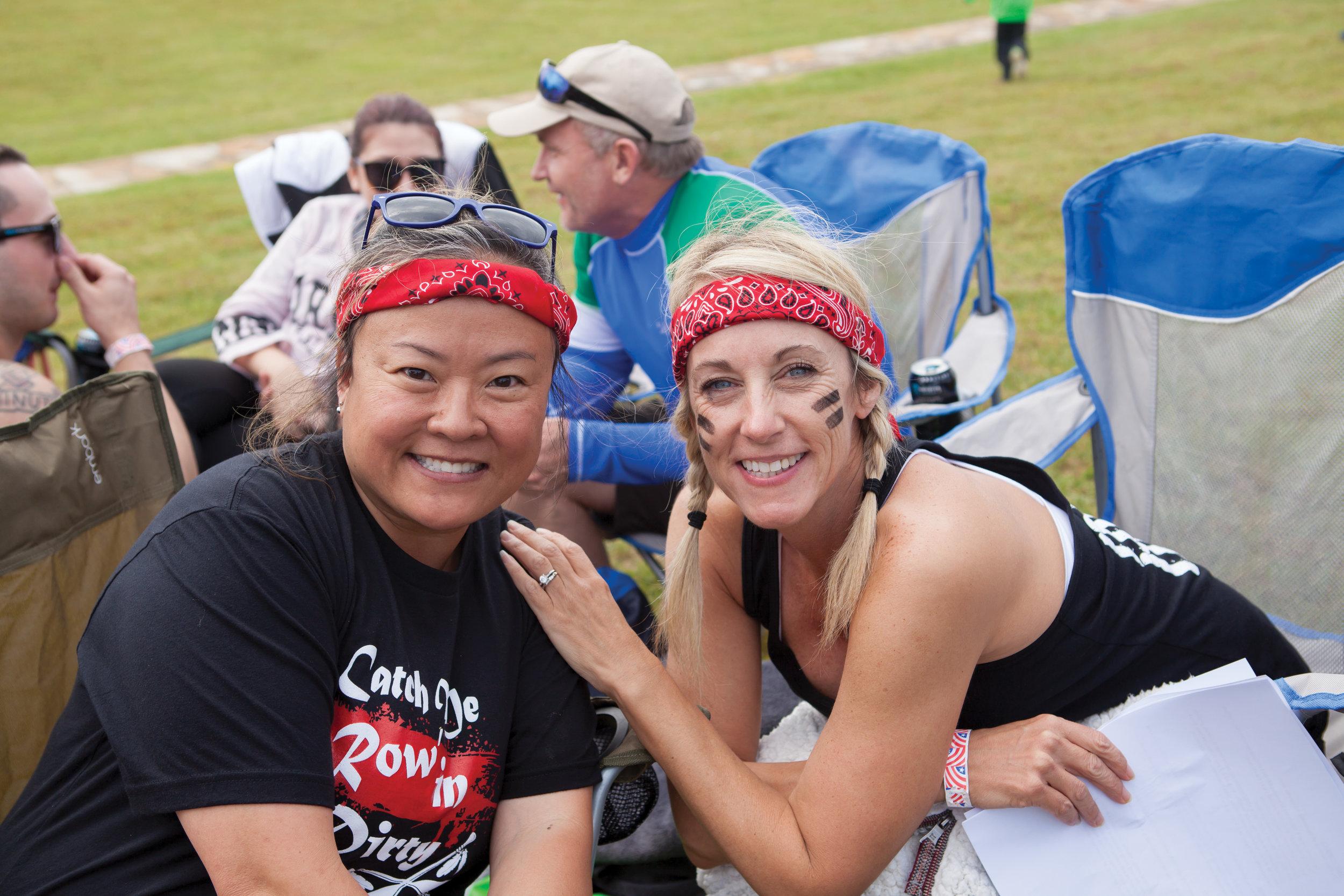 Suki O'Neal and Pam Reynolds