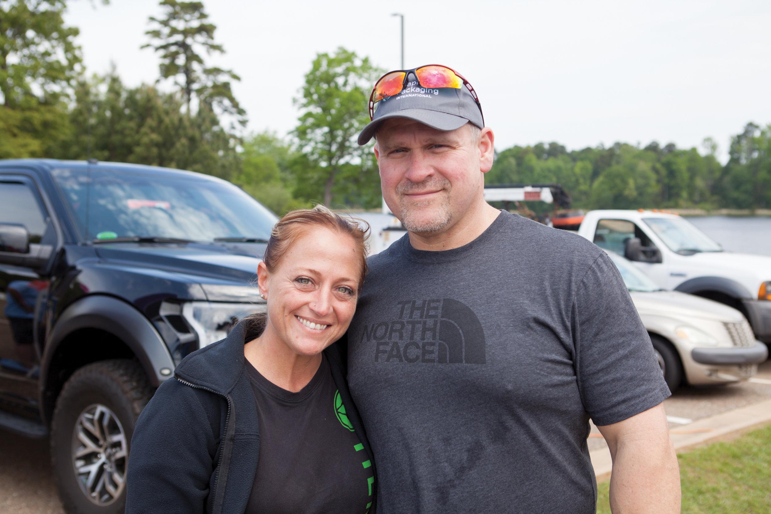 Terri Dean and Daryl Carver