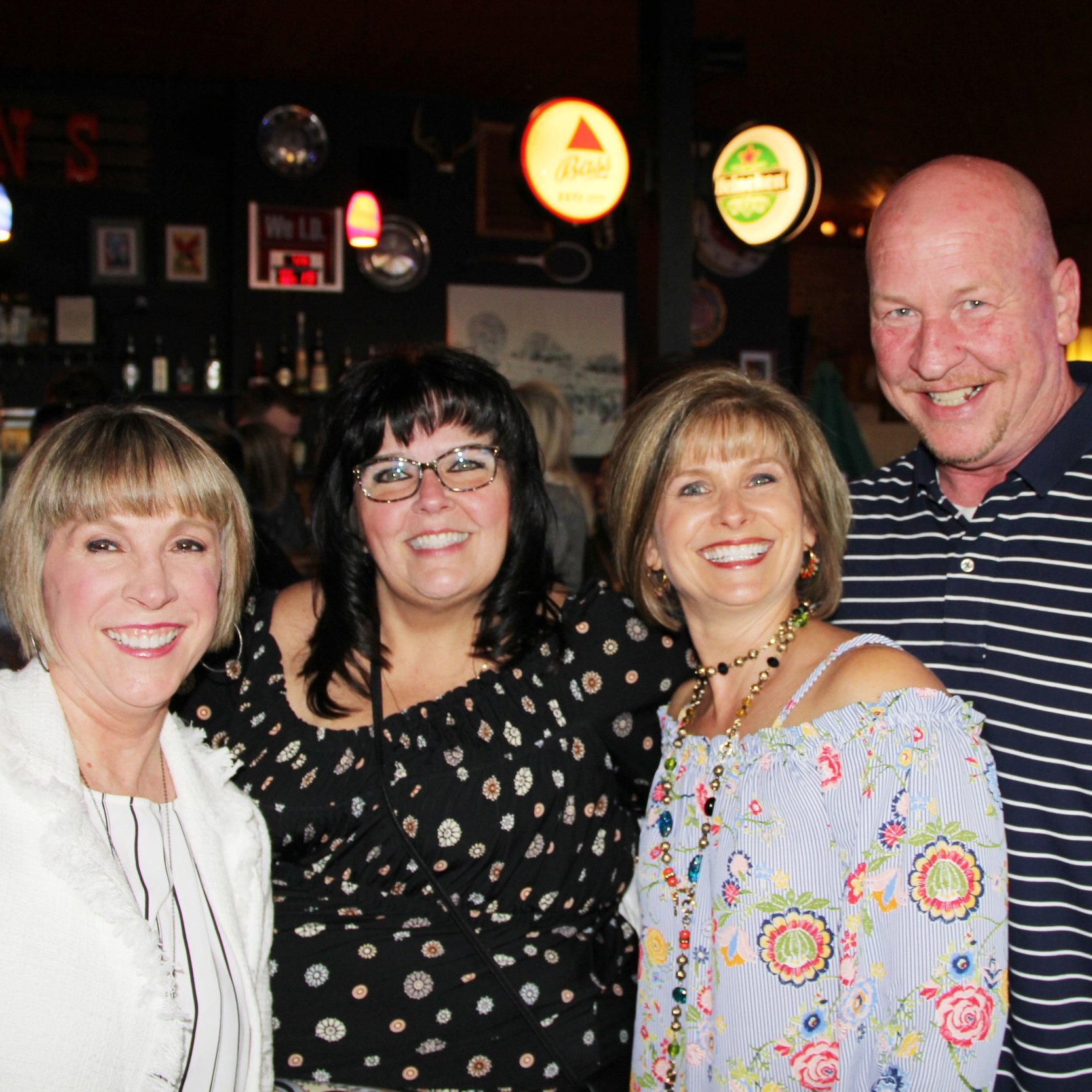 Diane Paolucci, Dr. Cindy Porter, Pam Beck and Chuck Phillips