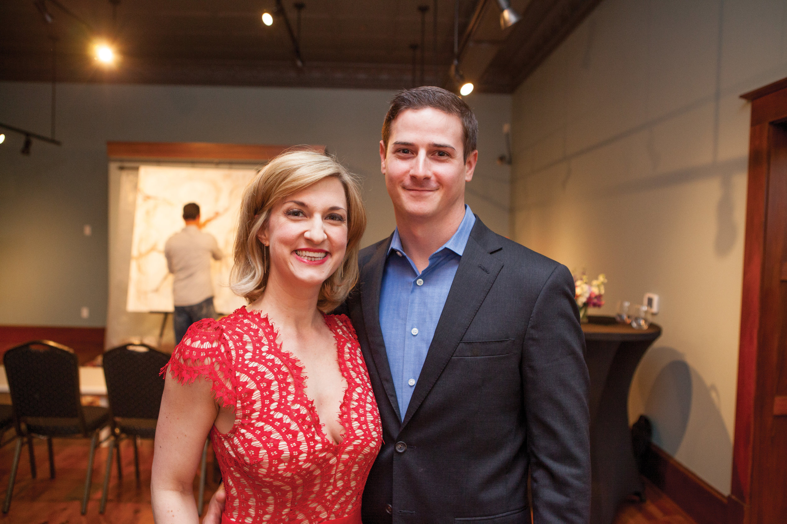 Colleen Narens and Eric Woods