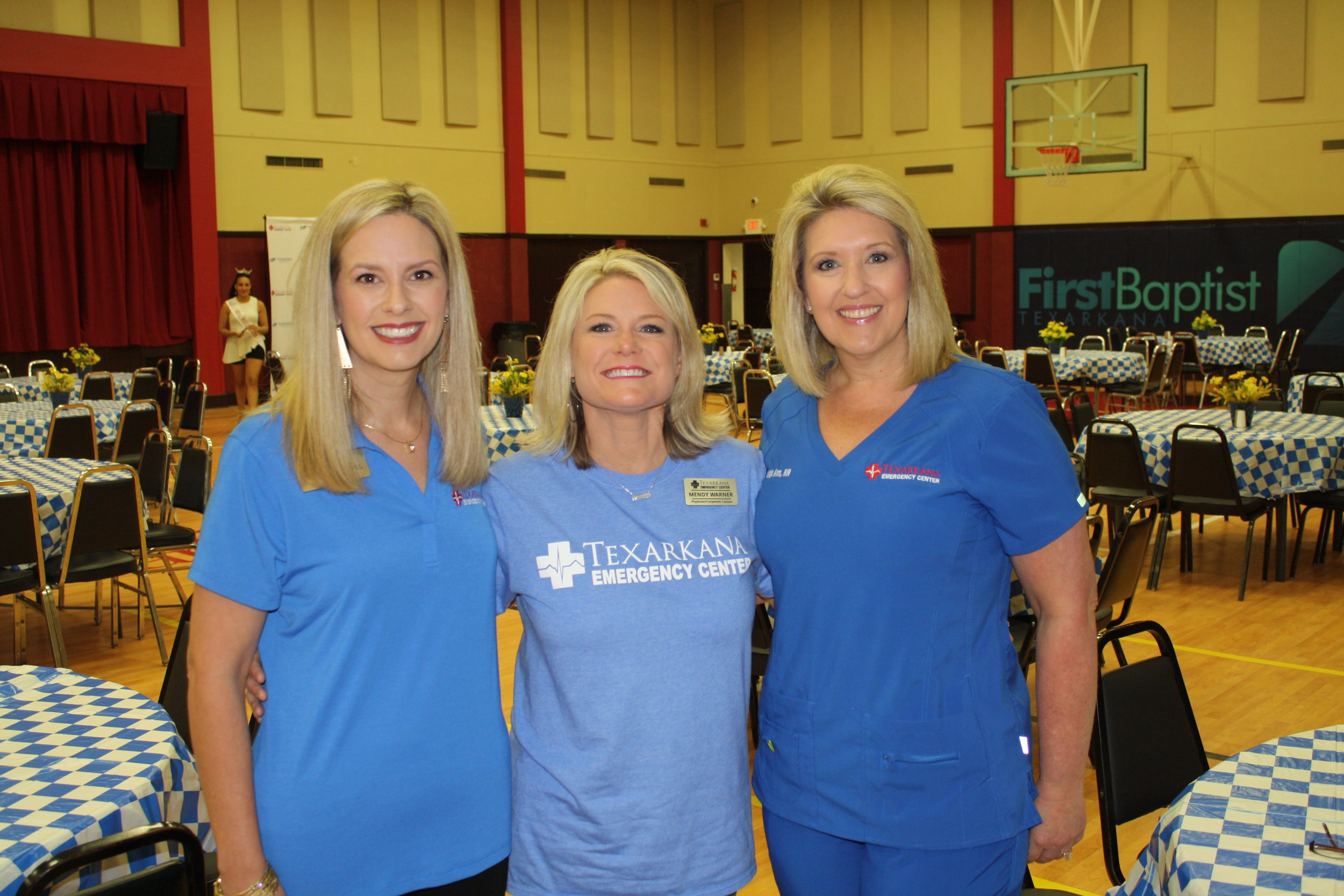 Brooke Marshall, Mendy Warner and Leigh Ann Scates