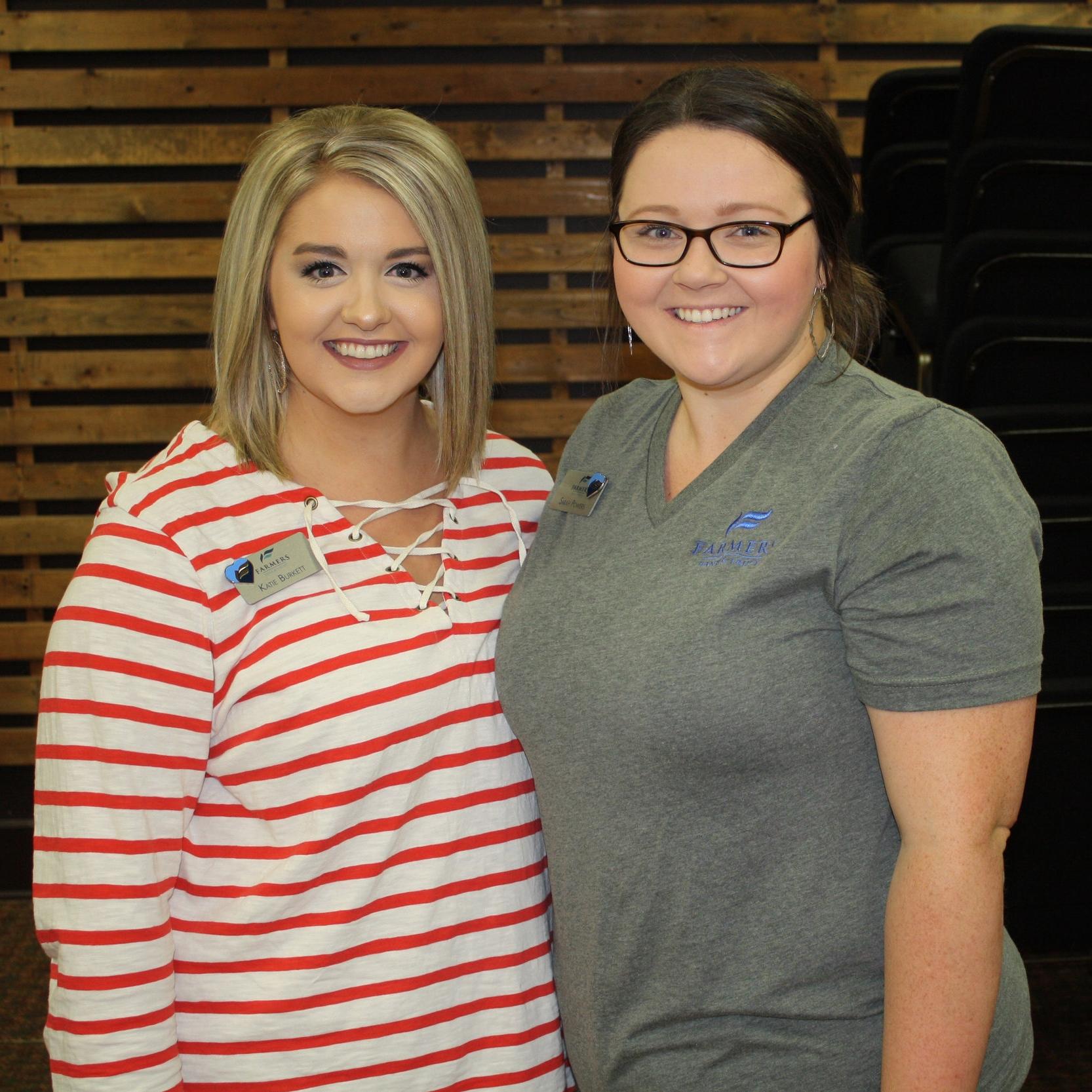 Katie Burkett and Sarah Powers