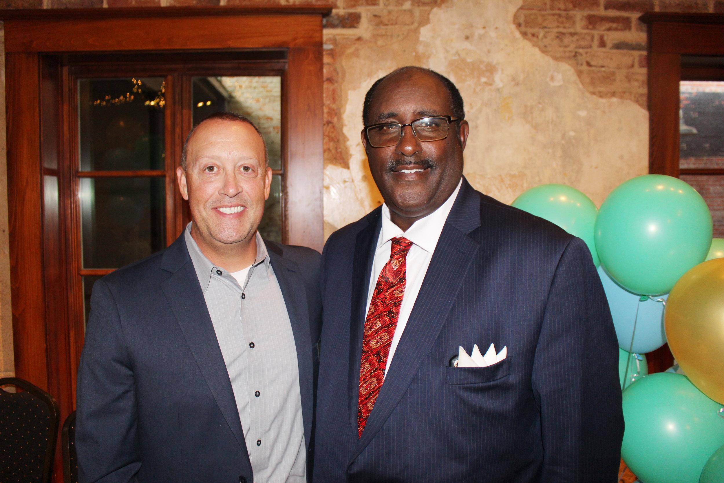 Craig Jenkins and Rev. Jerome Milton