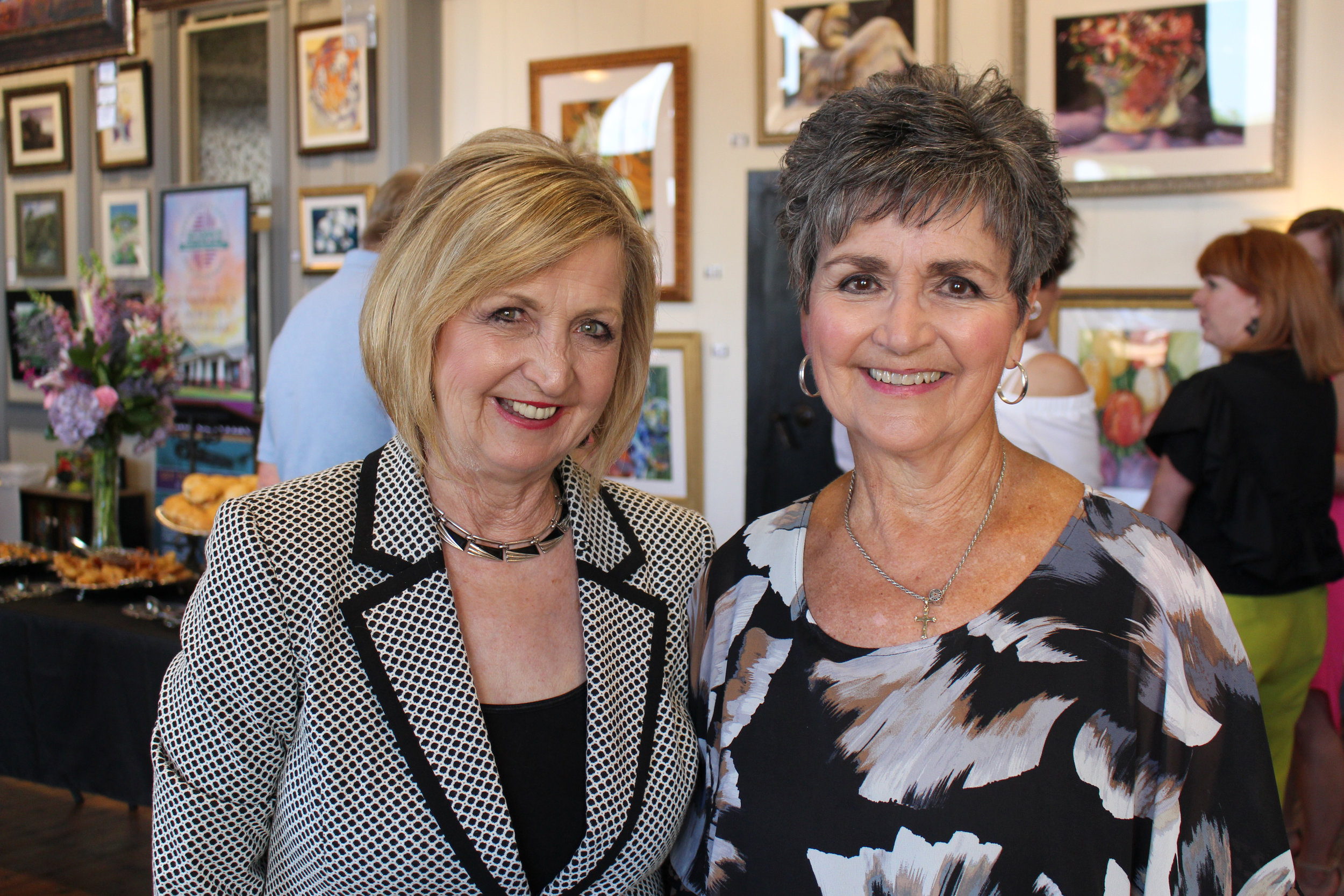 Brenda Guthrie and Annell Langdon